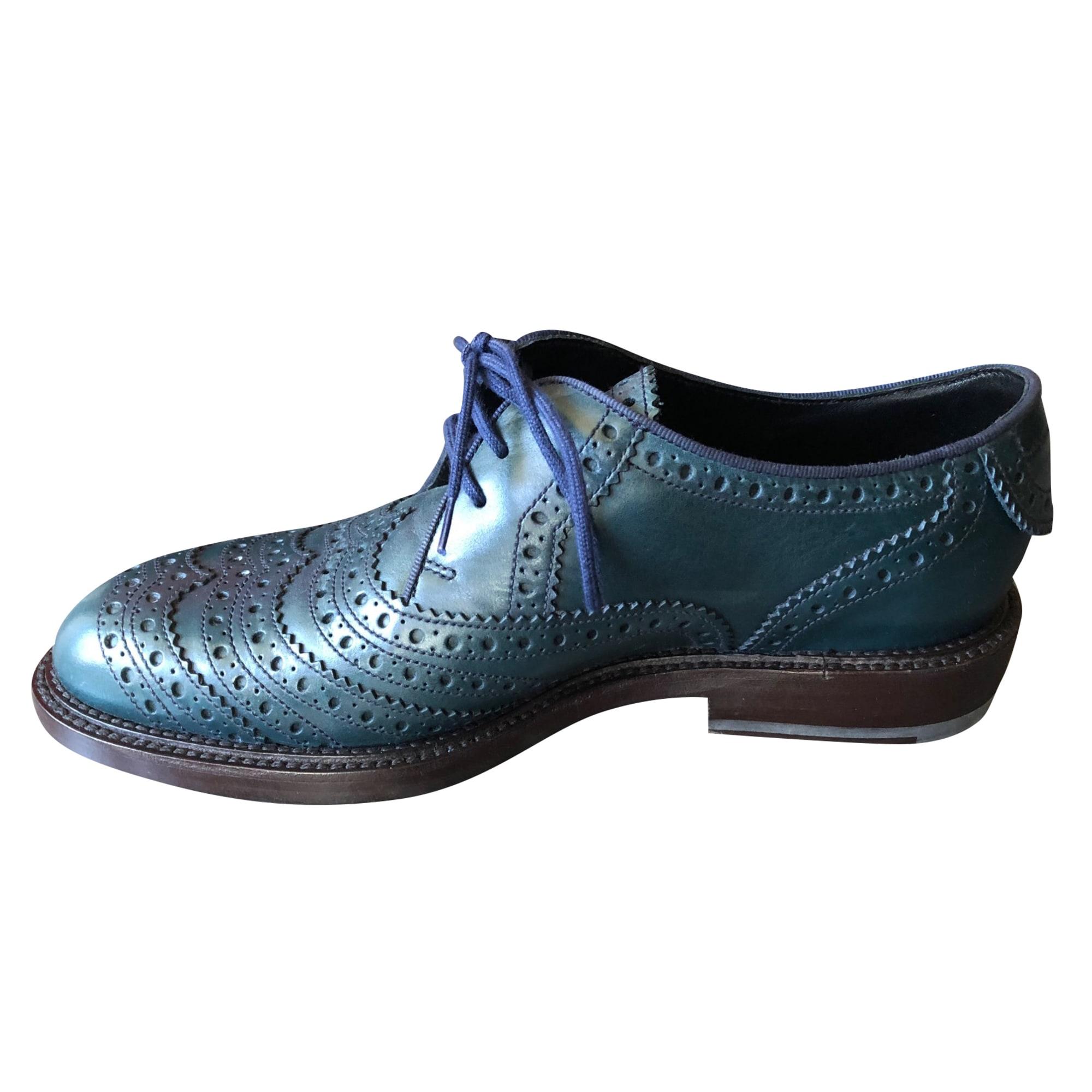 Chaussures à lacets  JM WESTON Bleu, bleu marine, bleu turquoise