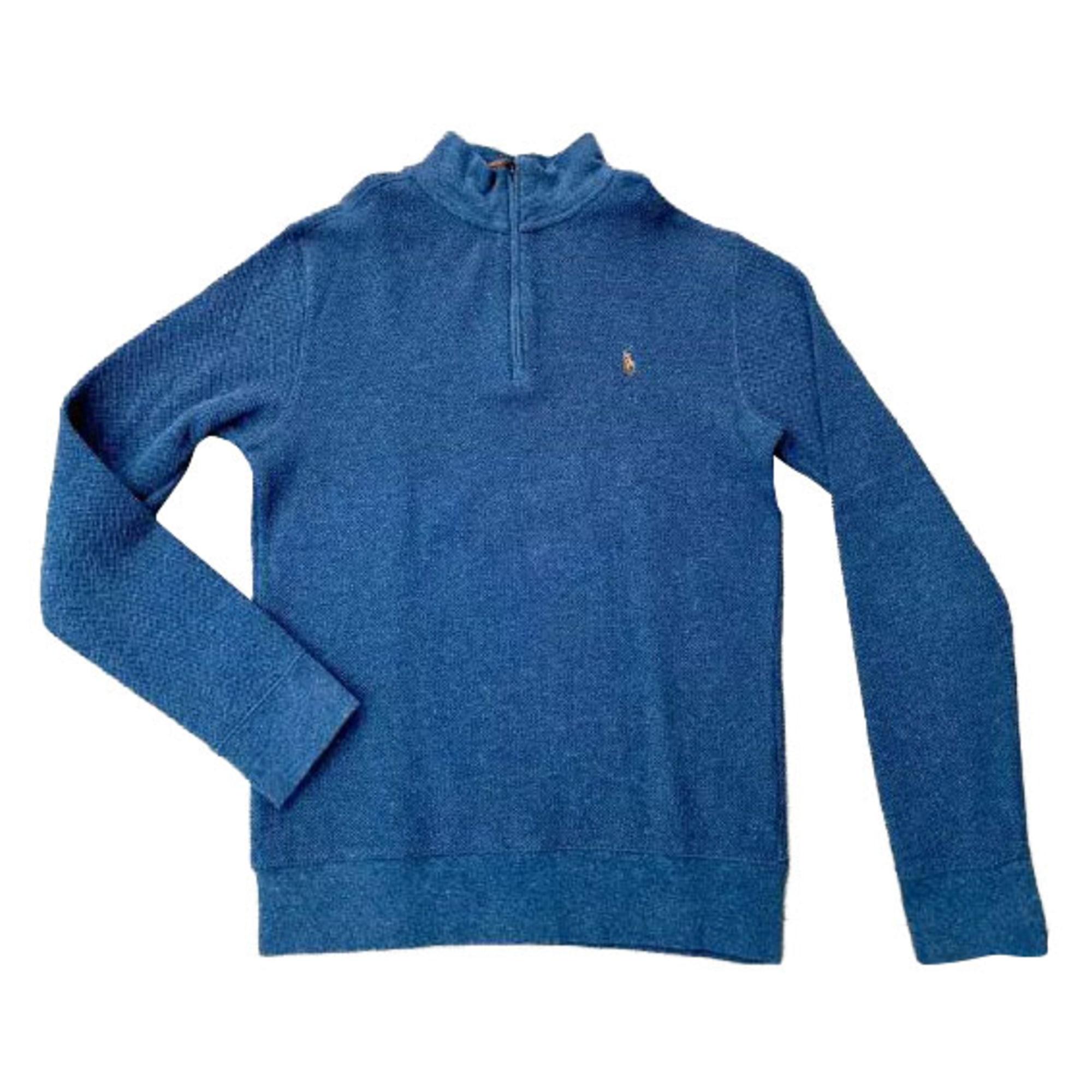 Pull RALPH LAUREN Bleu, bleu marine, bleu turquoise