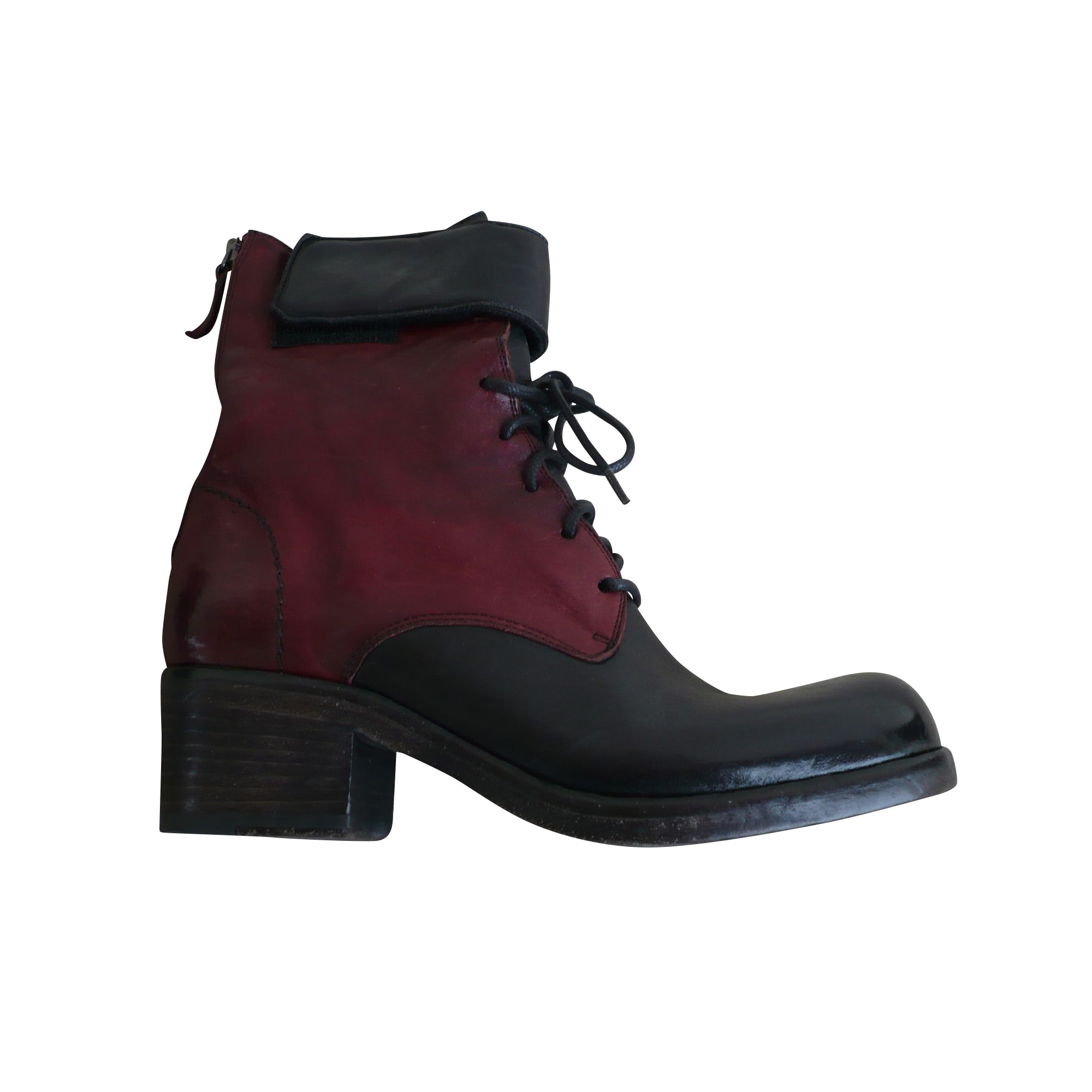 Bottines & low boots à talons VIC MATIÉ Rouge, bordeaux