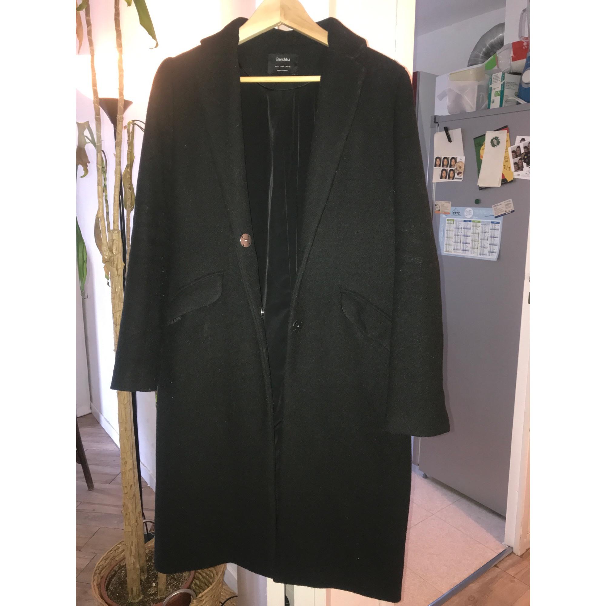 Manteau BERSHKA Noir