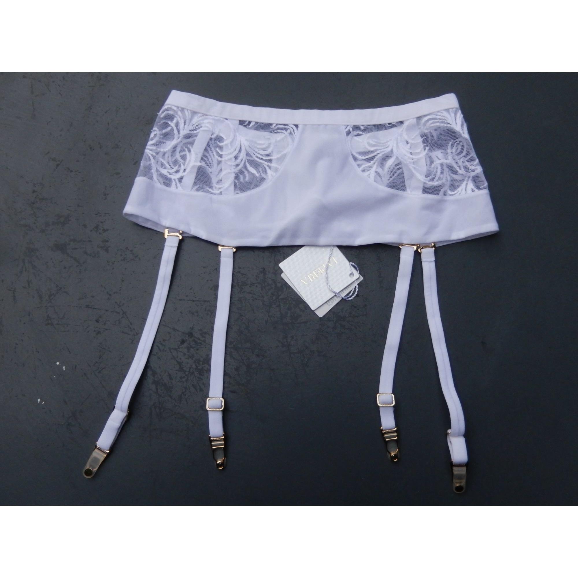 Porte-jarretelles LA PERLA Blanc, blanc cassé, écru