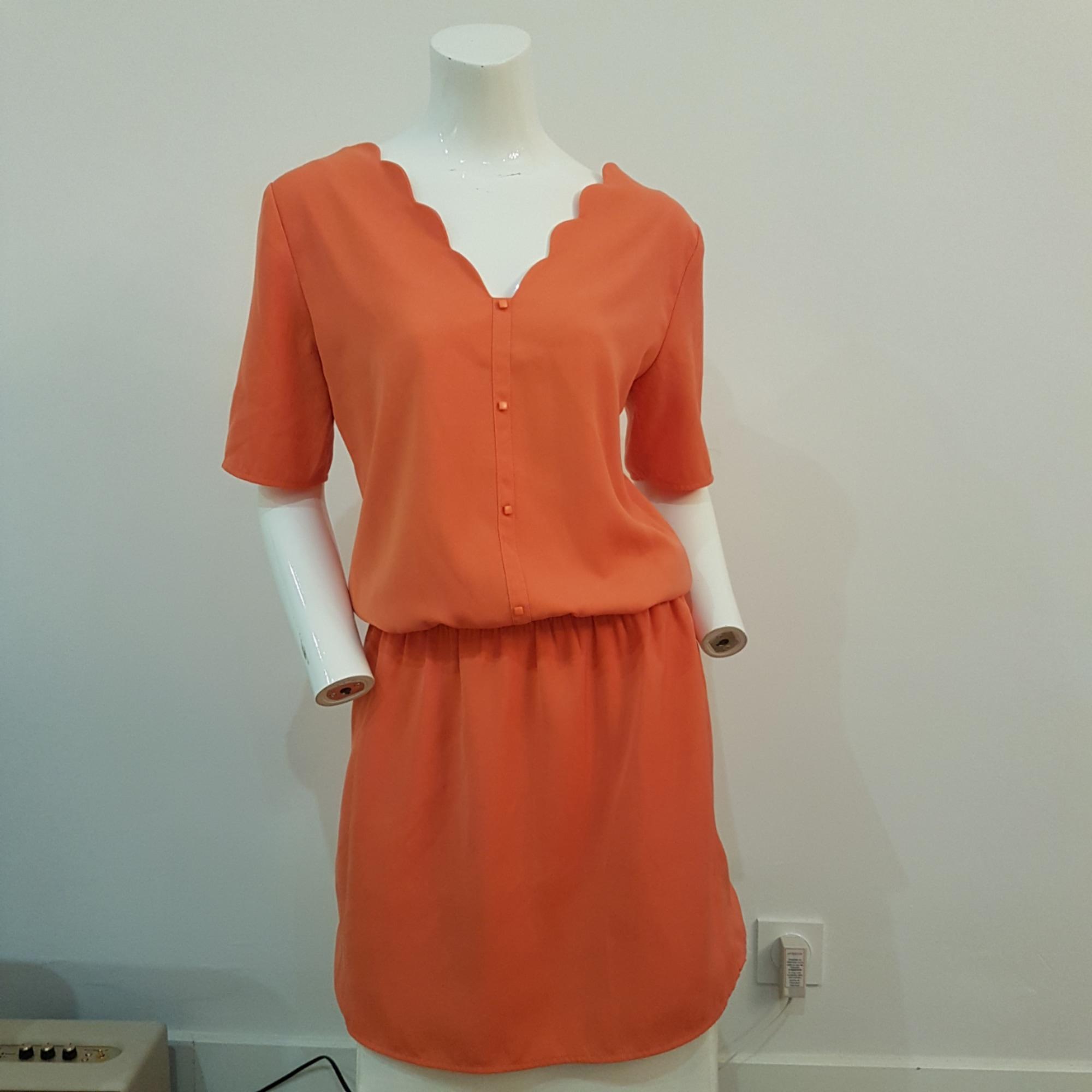 Robe mi-longue PROMOD Orange