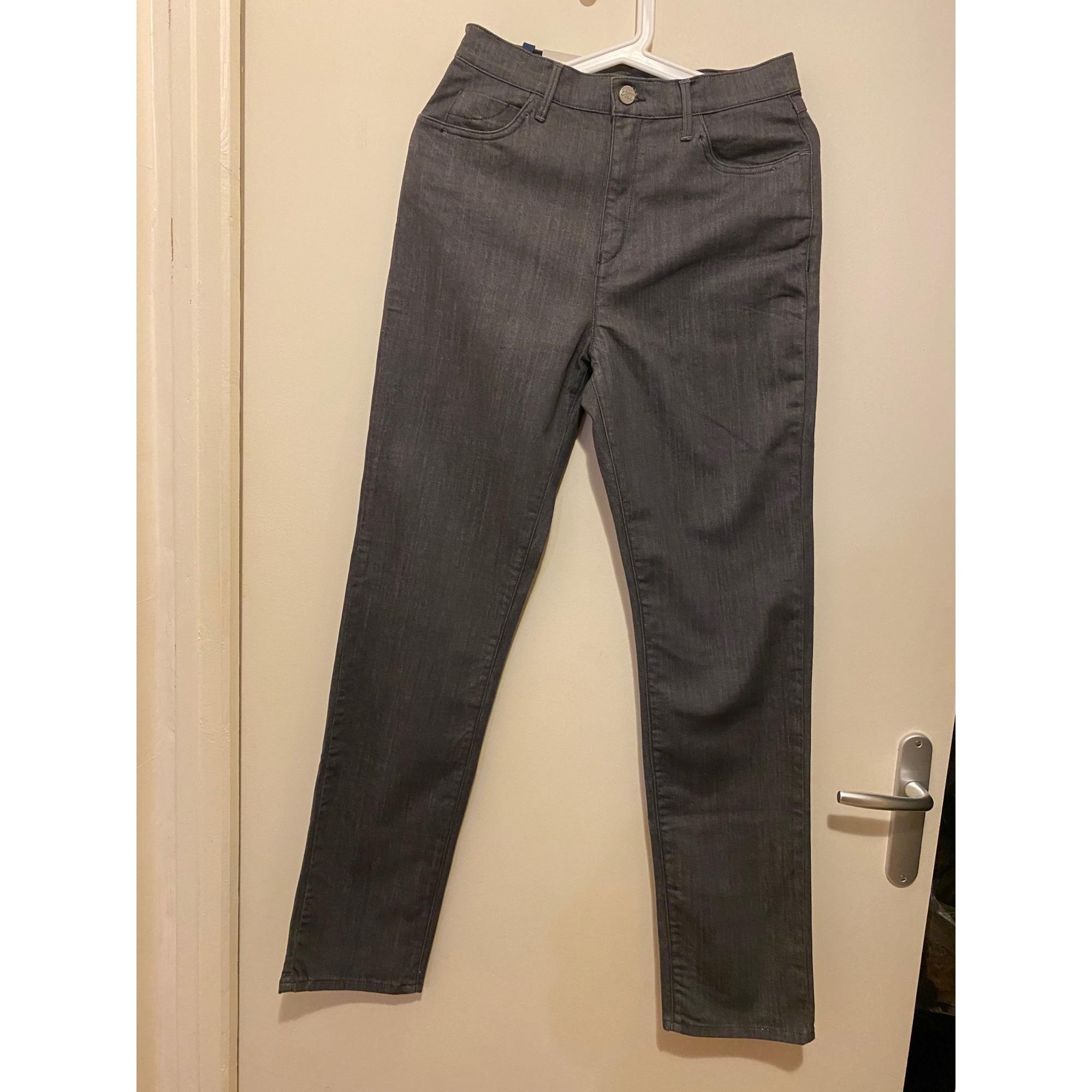 Jeans droit OBER Gris, anthracite