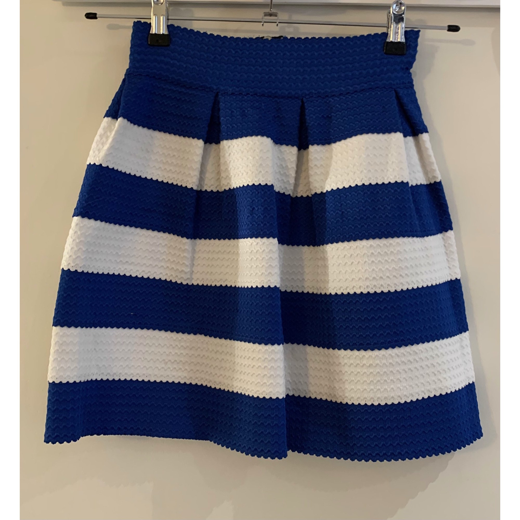 Jupe courte MARQUE INCONNUE Bleu, bleu marine, bleu turquoise
