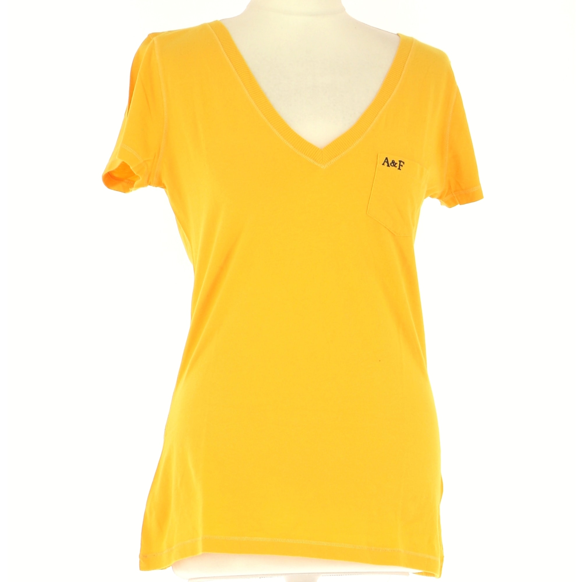 Top, tee-shirt ABERCROMBIE & FITCH Jaune