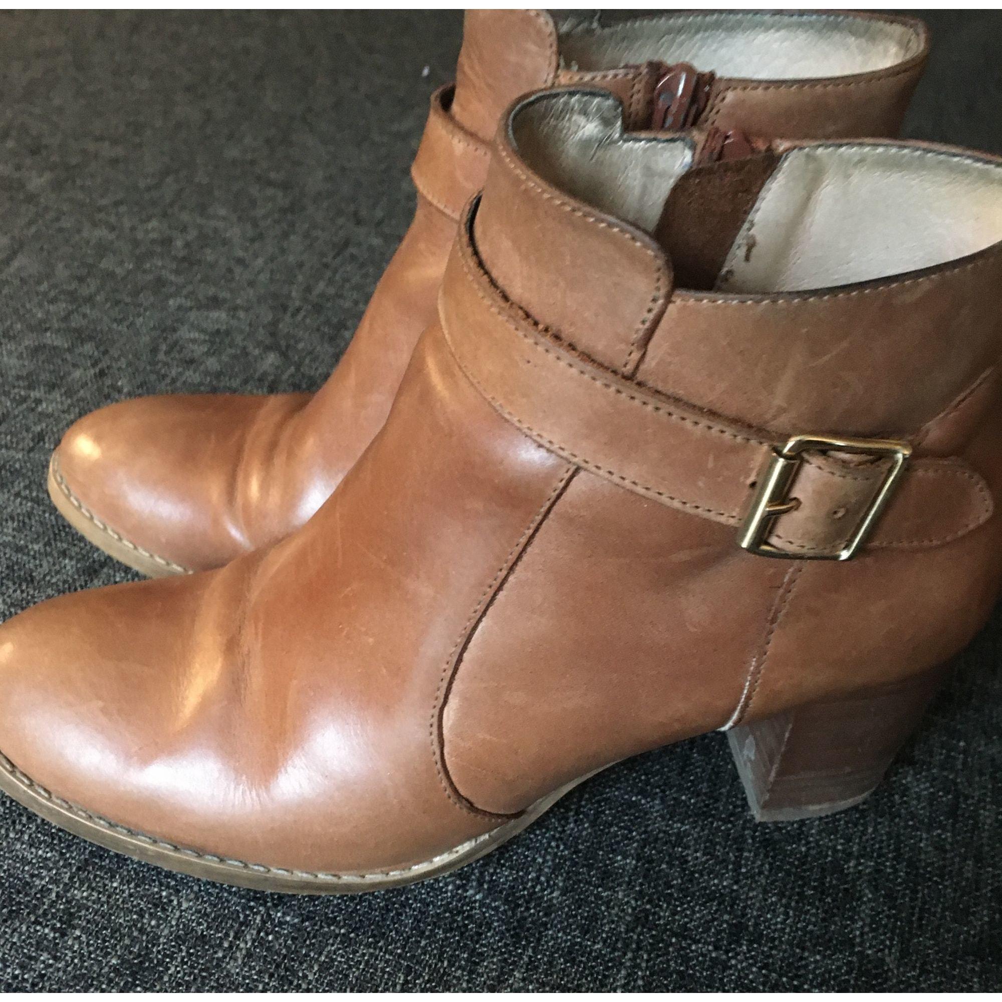 Bottines & low boots à talons MELLOW YELLOW Beige, camel