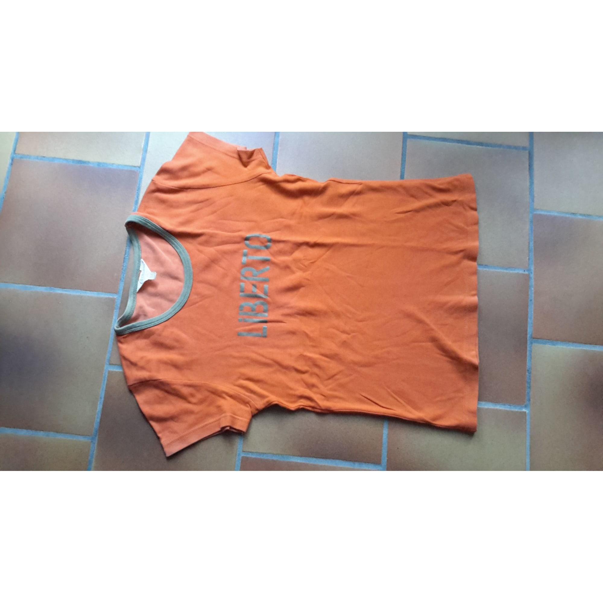 Top, tee-shirt LIBERTO Orange