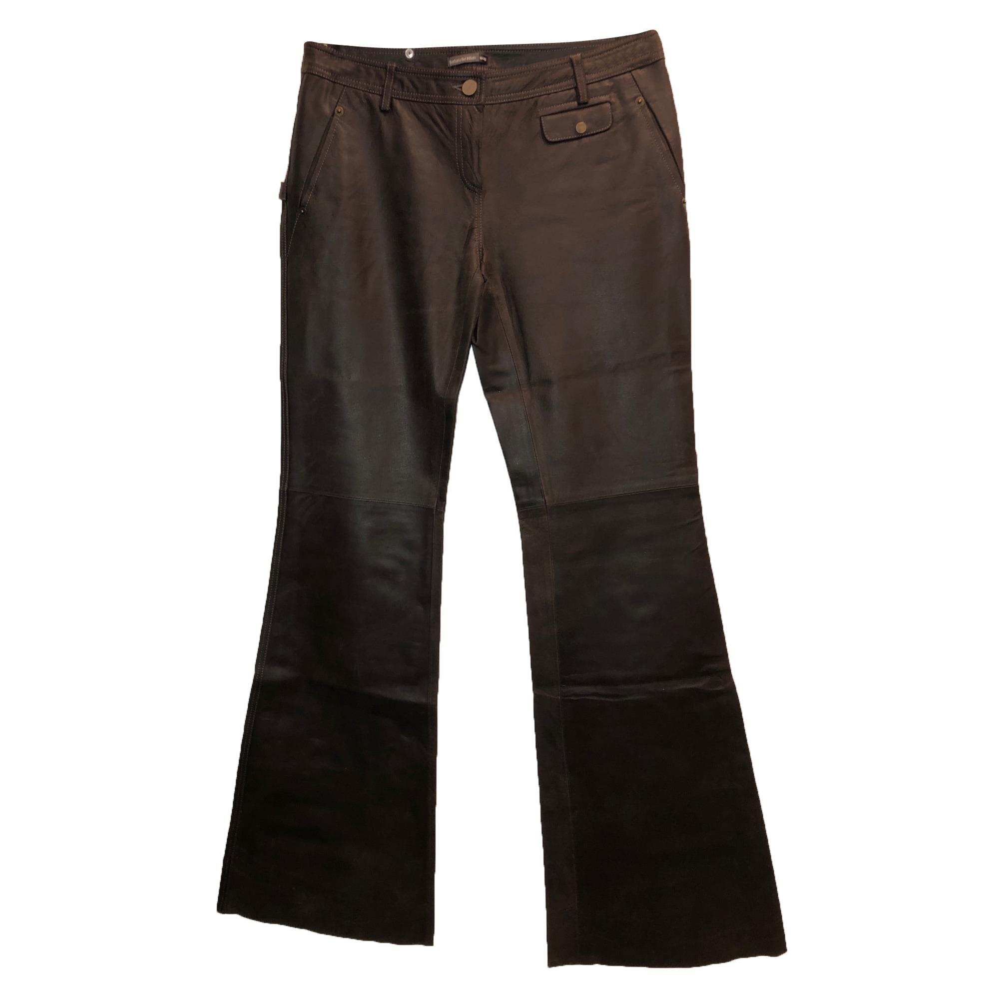 Pantalon très evasé, patte d'éléphant BARBARA BUI Marron