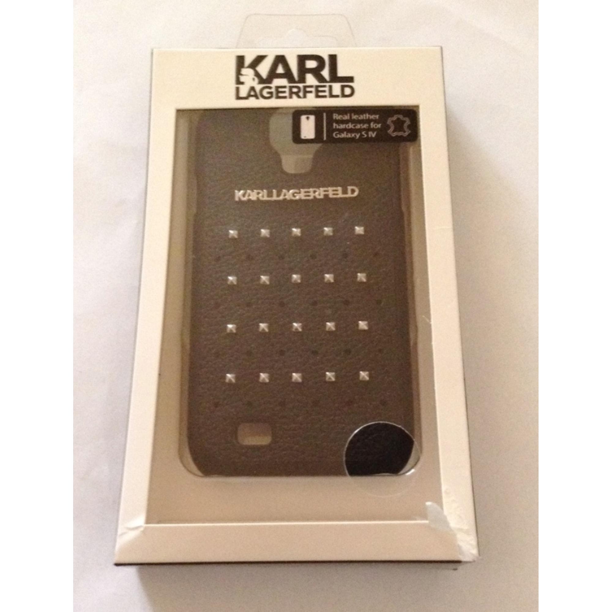 Etui iPhone  KARL LAGERFELD Noir