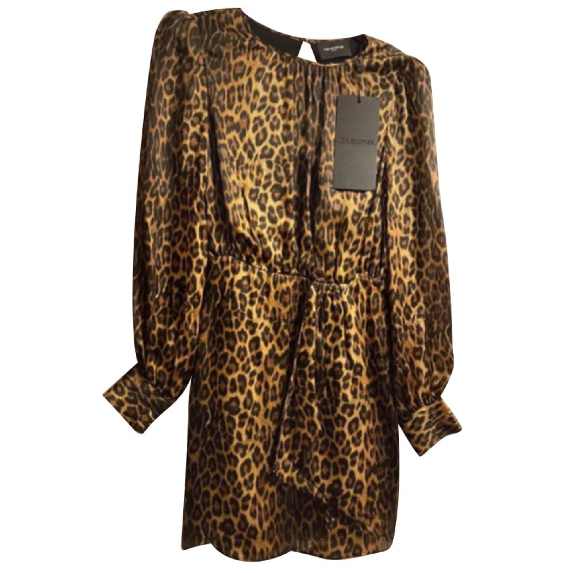 Robe courte THE KOOPLES Beige, camel