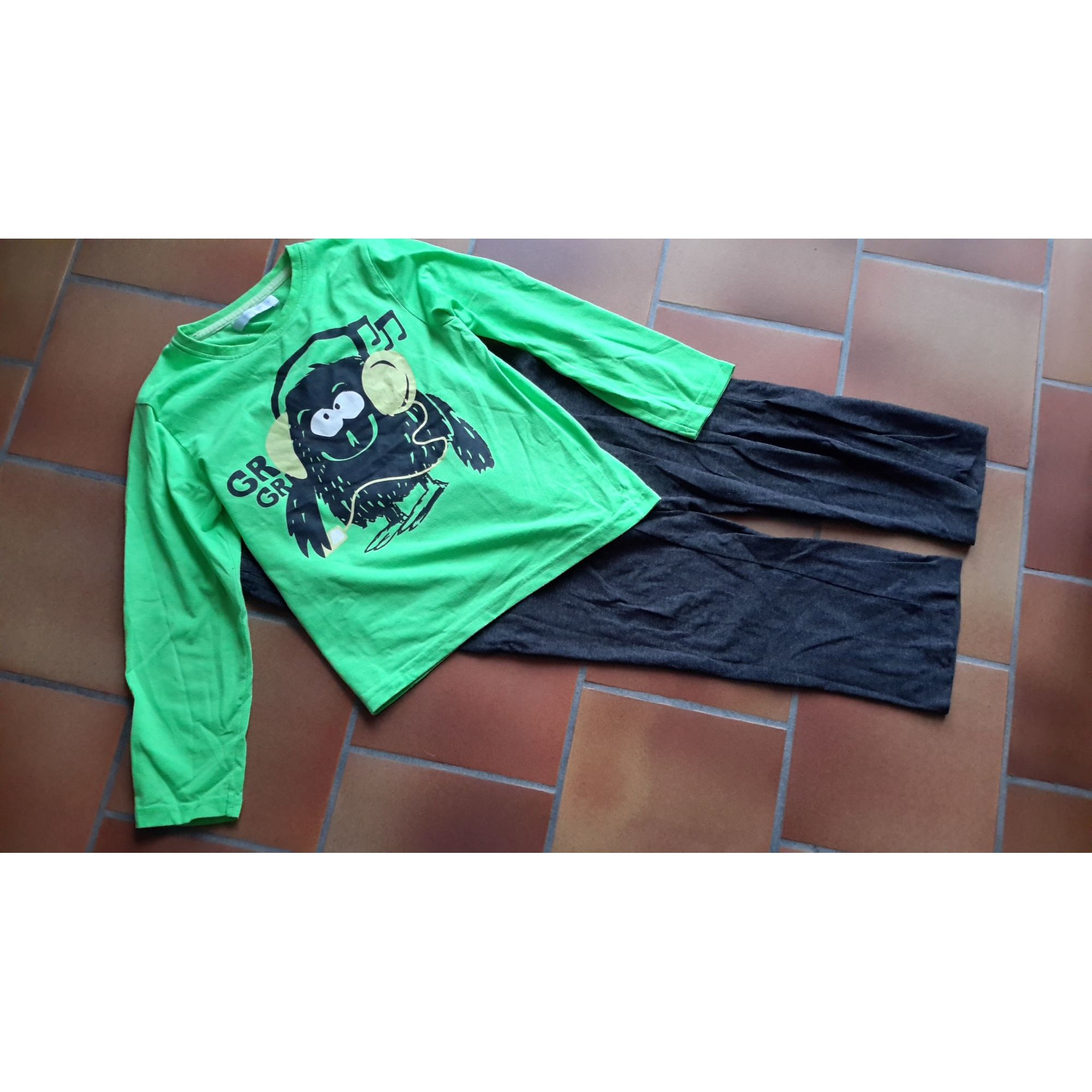 Pyjama GÉMO Green