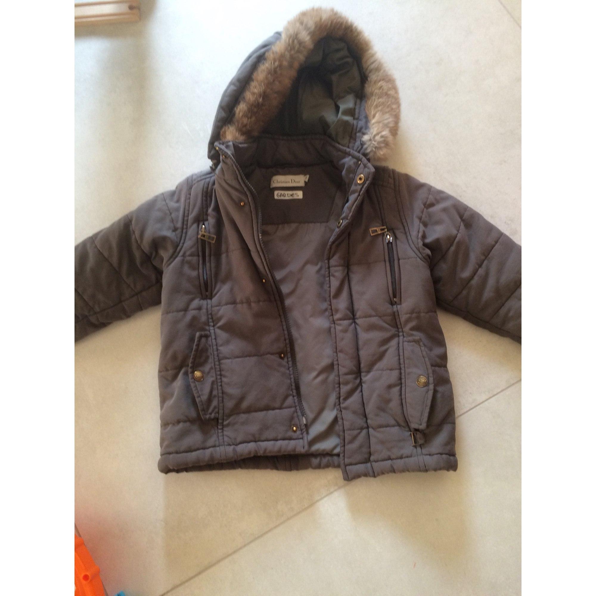 Down Jacket BABY DIOR Khaki