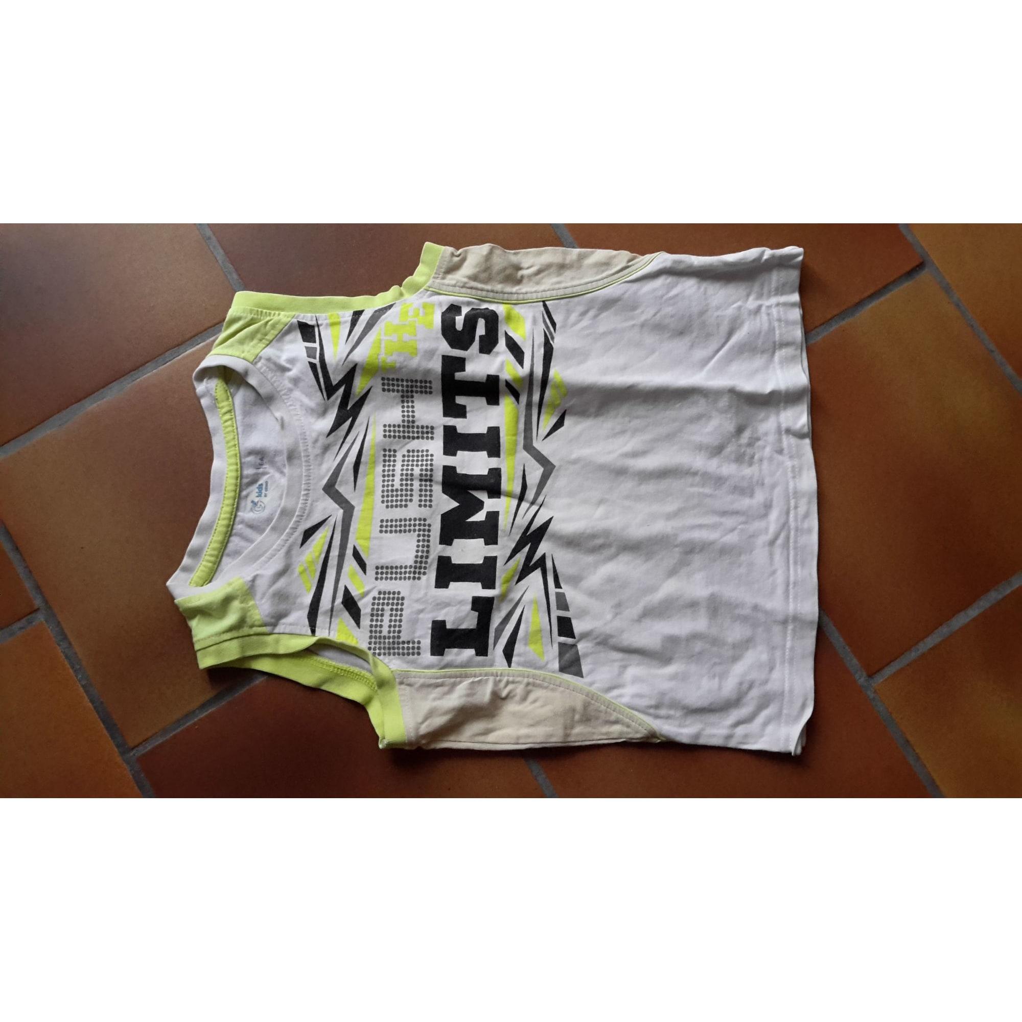 T-shirt GÉMO White, off-white, ecru