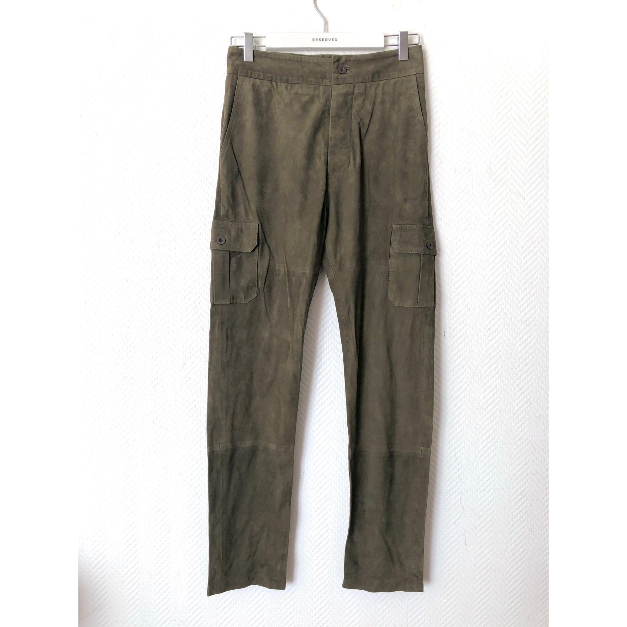 Pantalon carotte BA&SH Vert