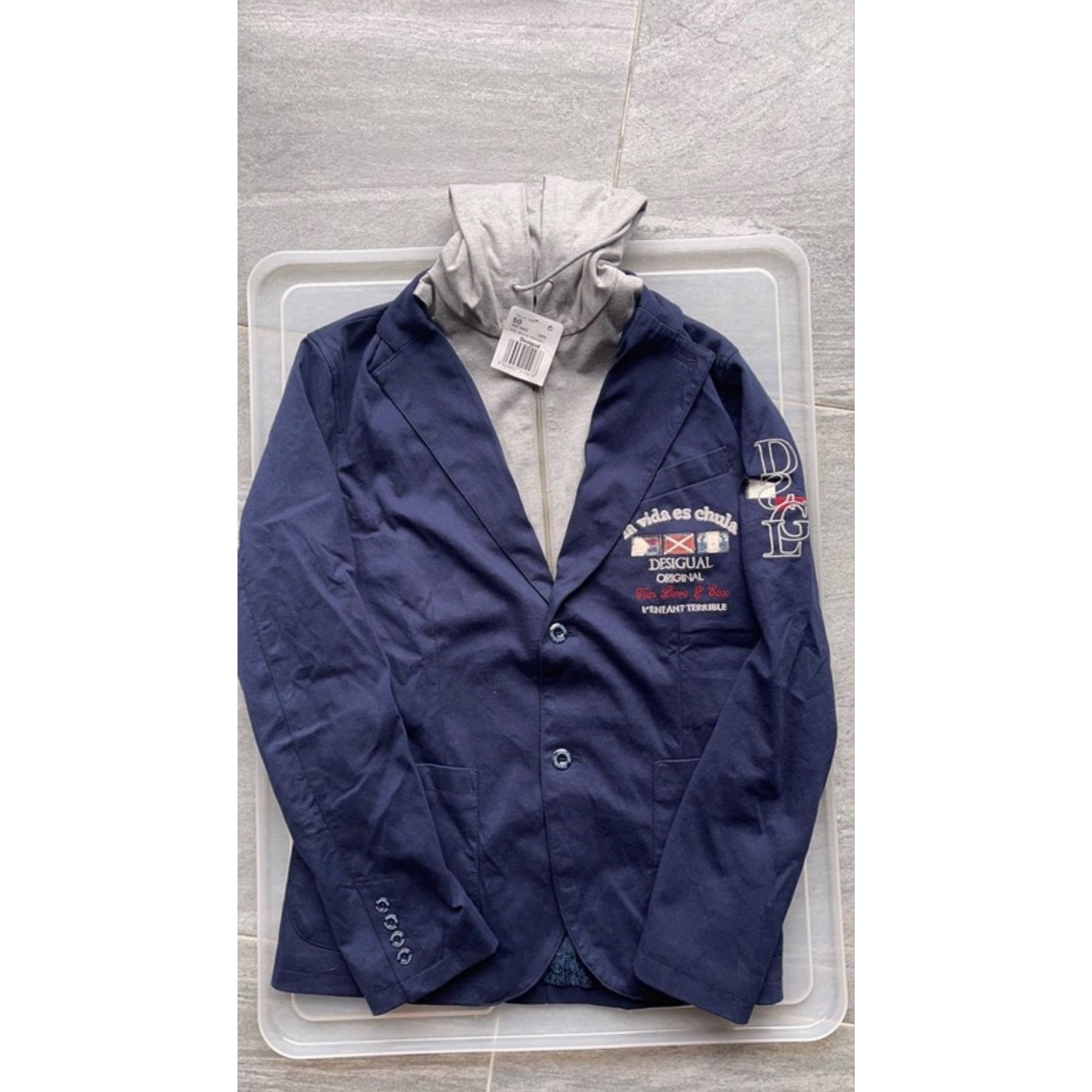 Jacket DESIGUAL Blue, navy, turquoise