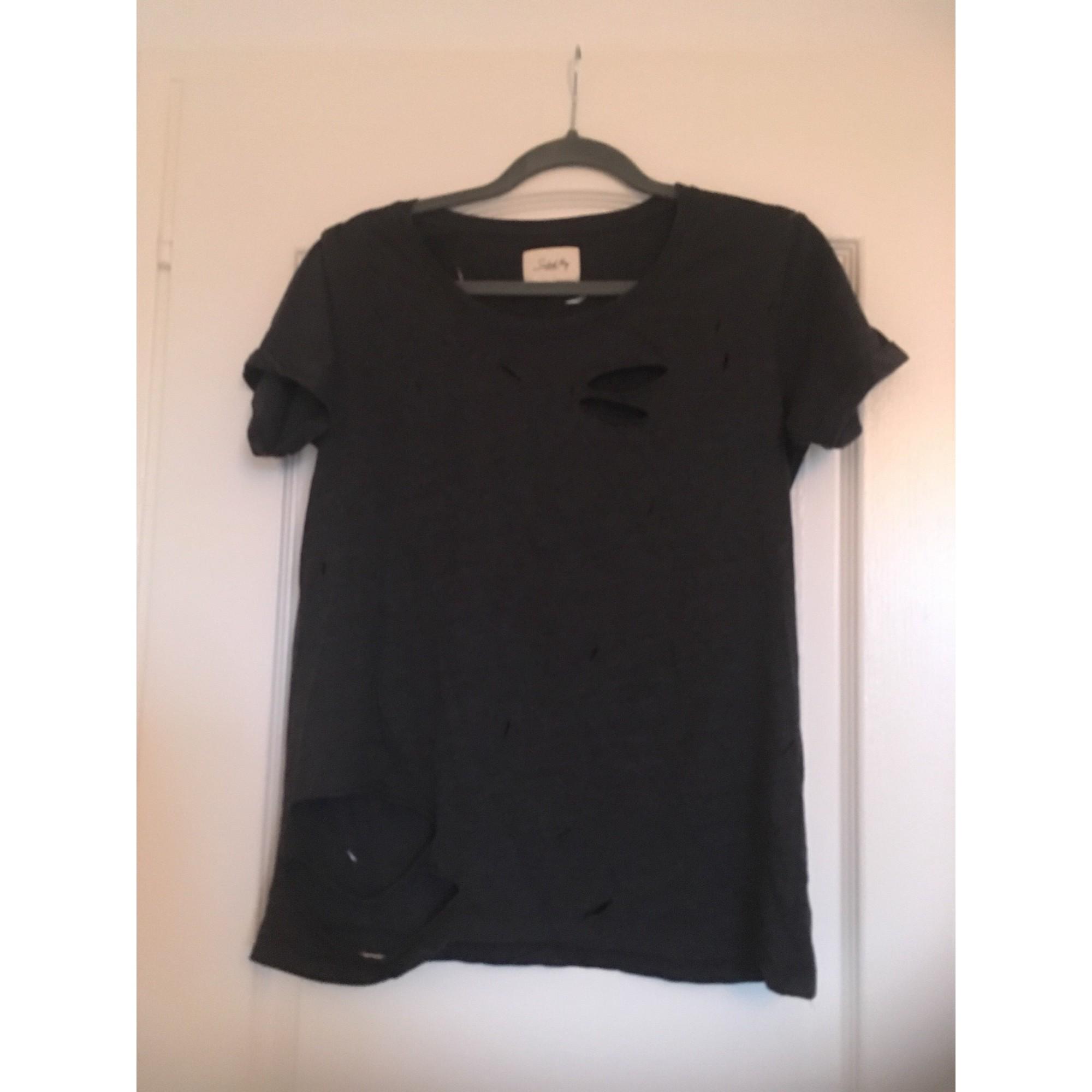 Top, tee-shirt SCHOOL RAG Gris, anthracite