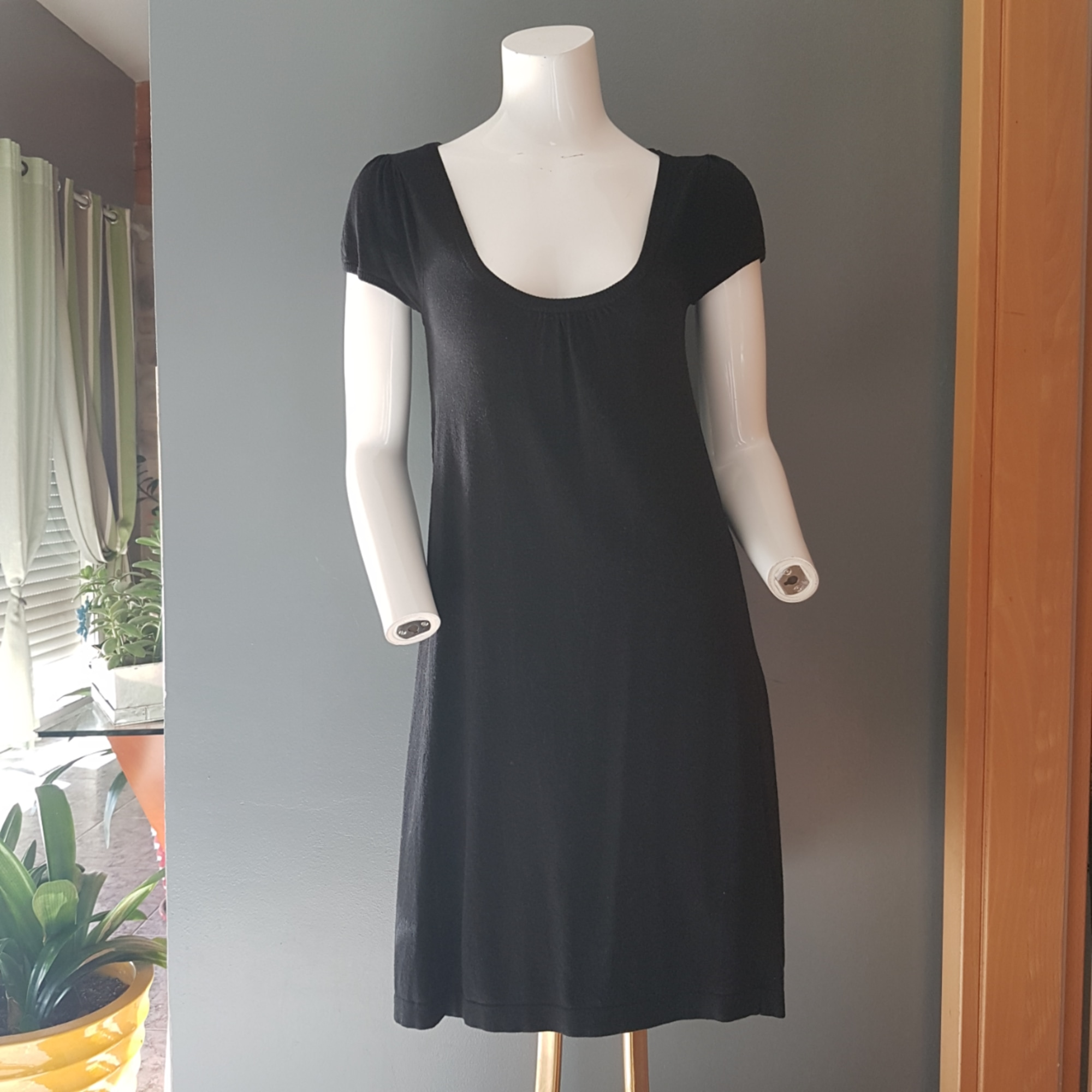 Robe courte MANGO Noir