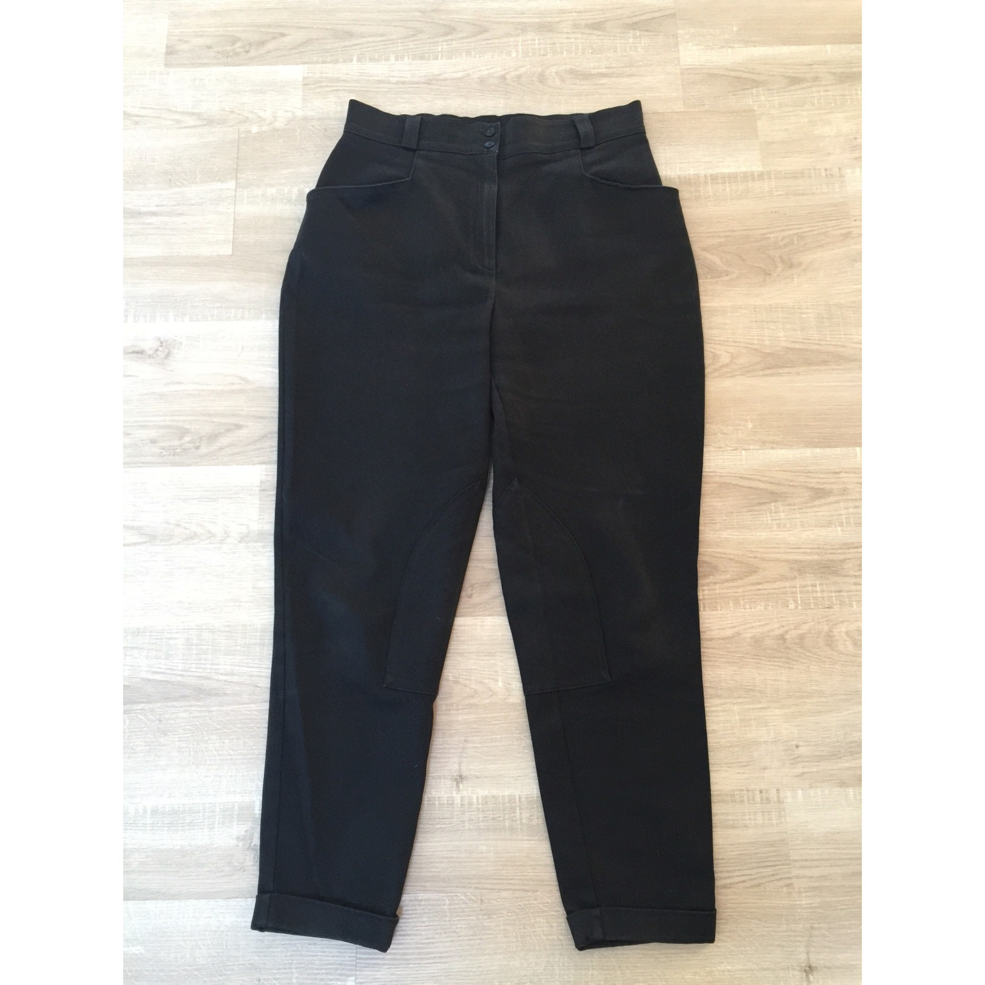 Pantalon carotte XAVANNE Noir