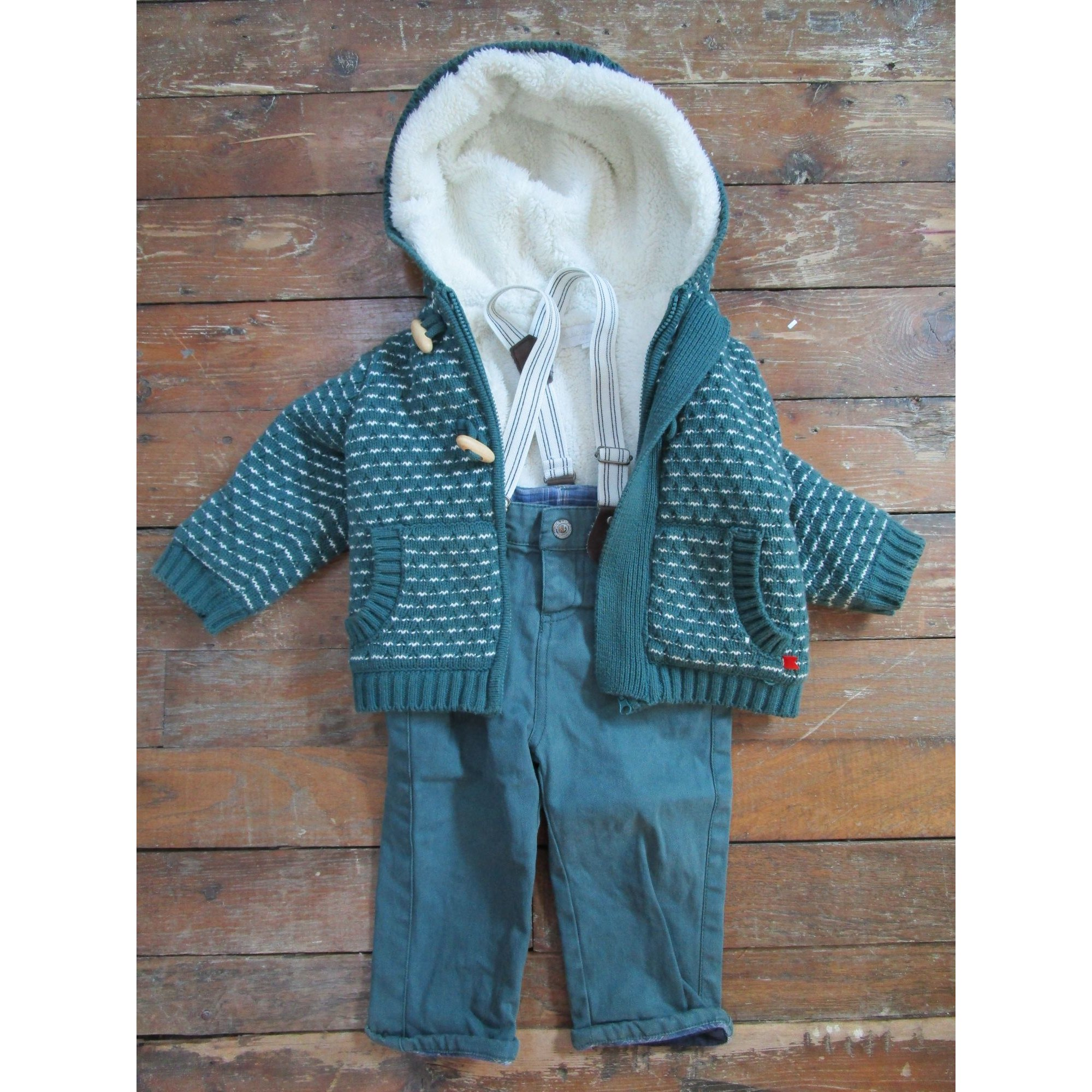 Pants Set, Outfit CADET ROUSSELLE Green