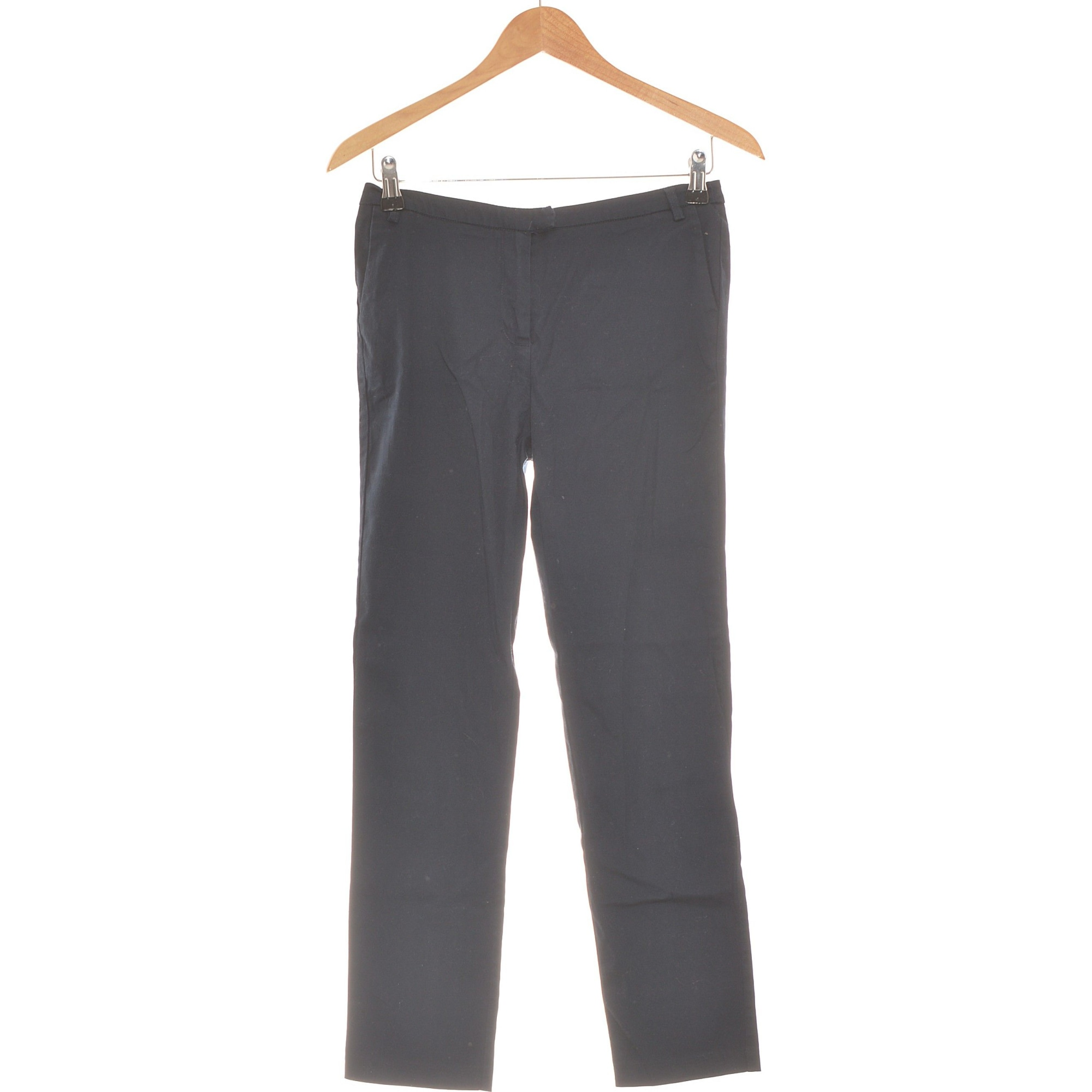 Pantalon droit LA REDOUTE Bleu, bleu marine, bleu turquoise