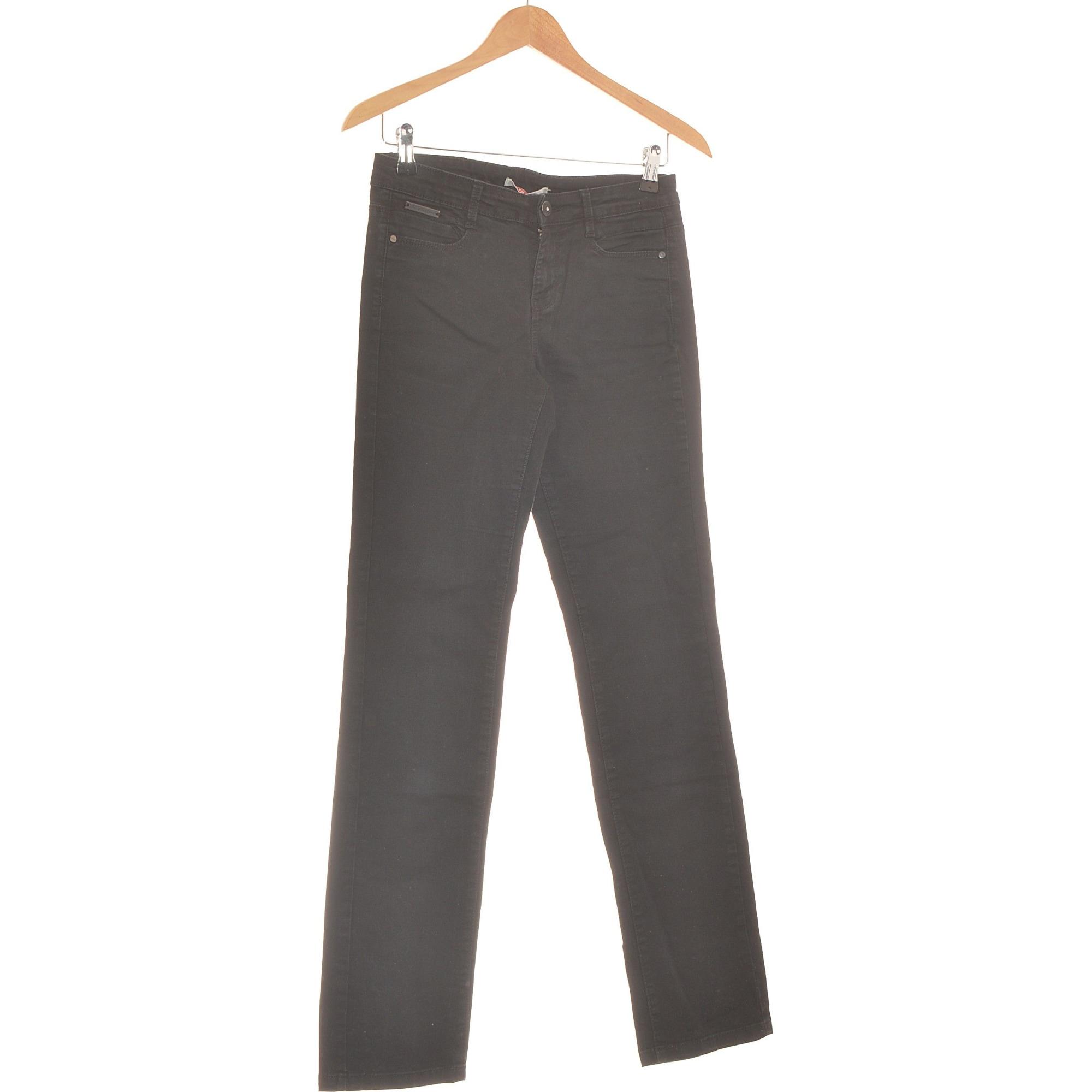 Jeans droit CAMAIEU Noir