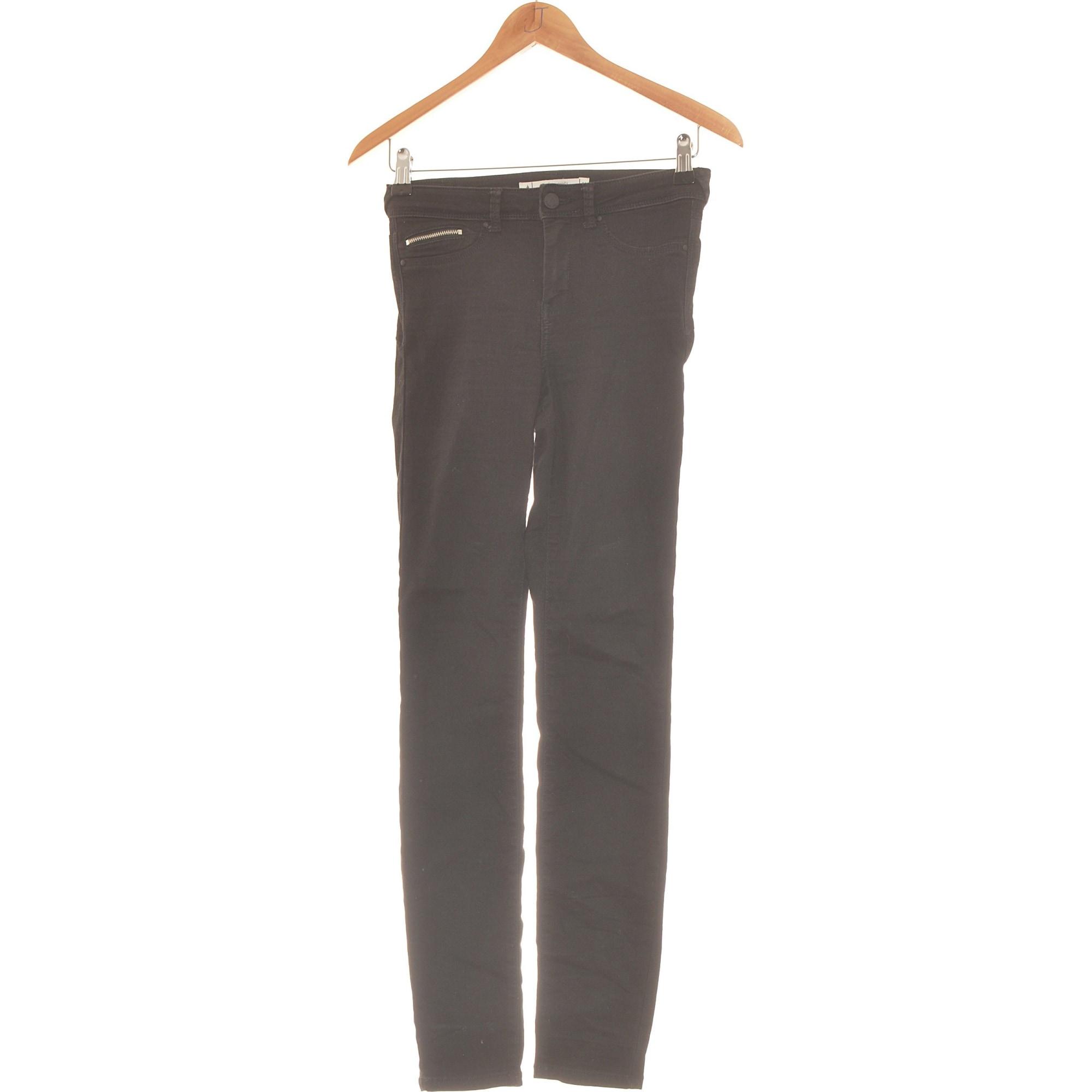 Pantalon slim, cigarette SUD EXPRESS Noir