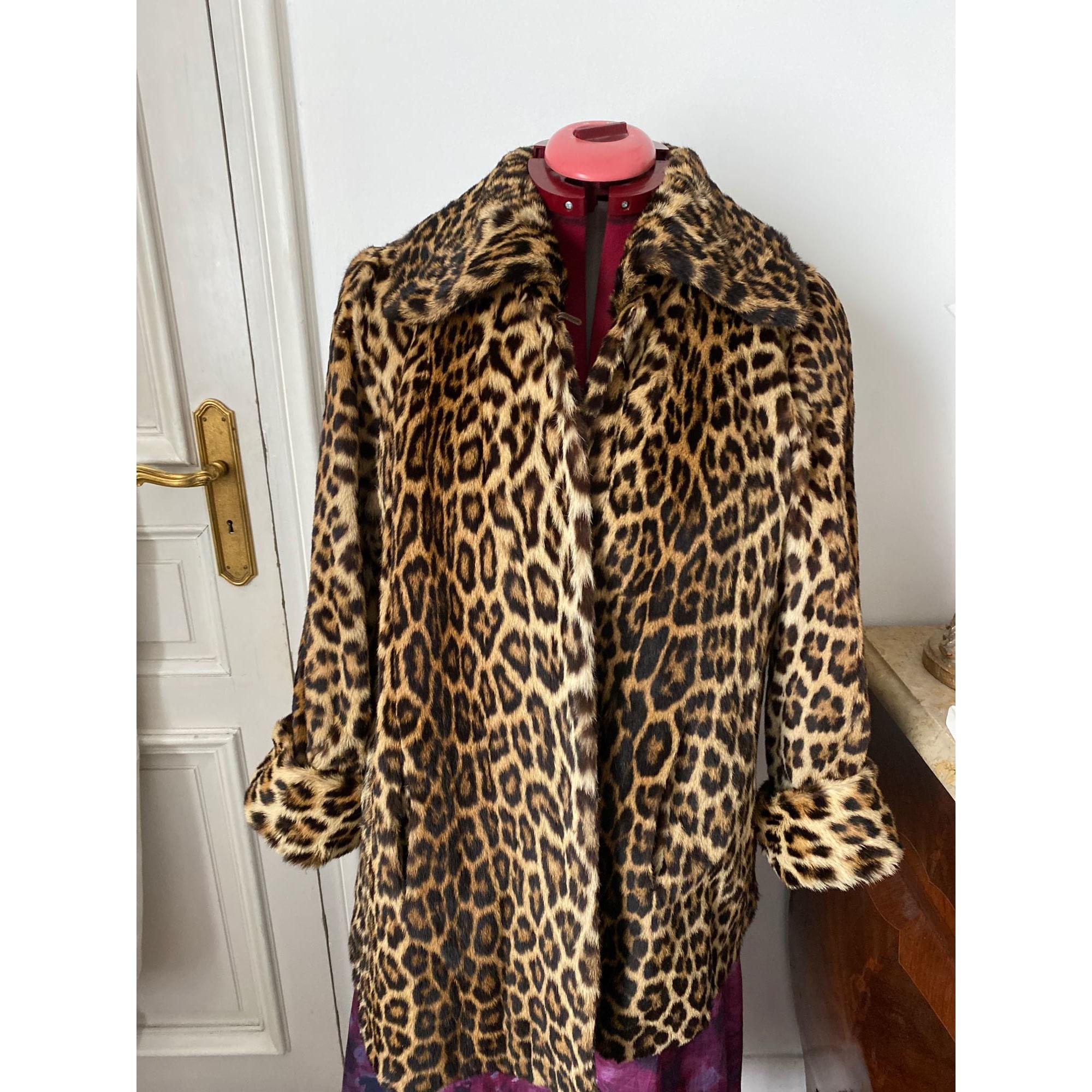 Manteau en fourrure REVILLON Imprimés animaliers