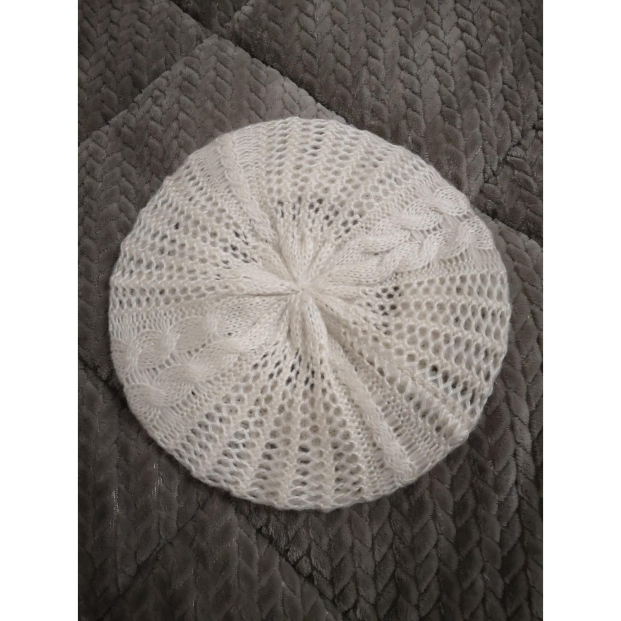 Bonnet MOA Blanc, blanc cassé, écru
