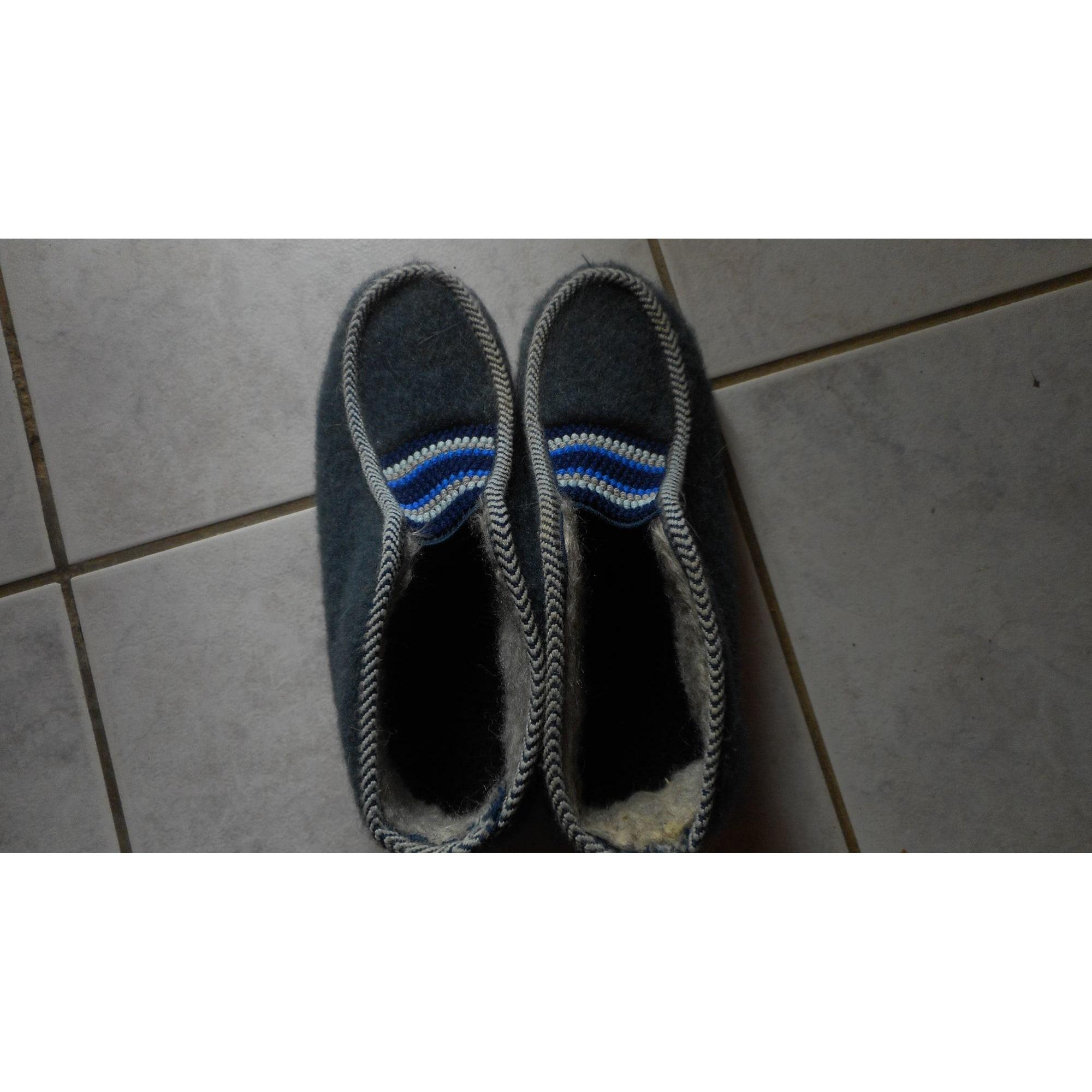 Chaussons & pantoufles MARQUE INCONNUE Gris, anthracite