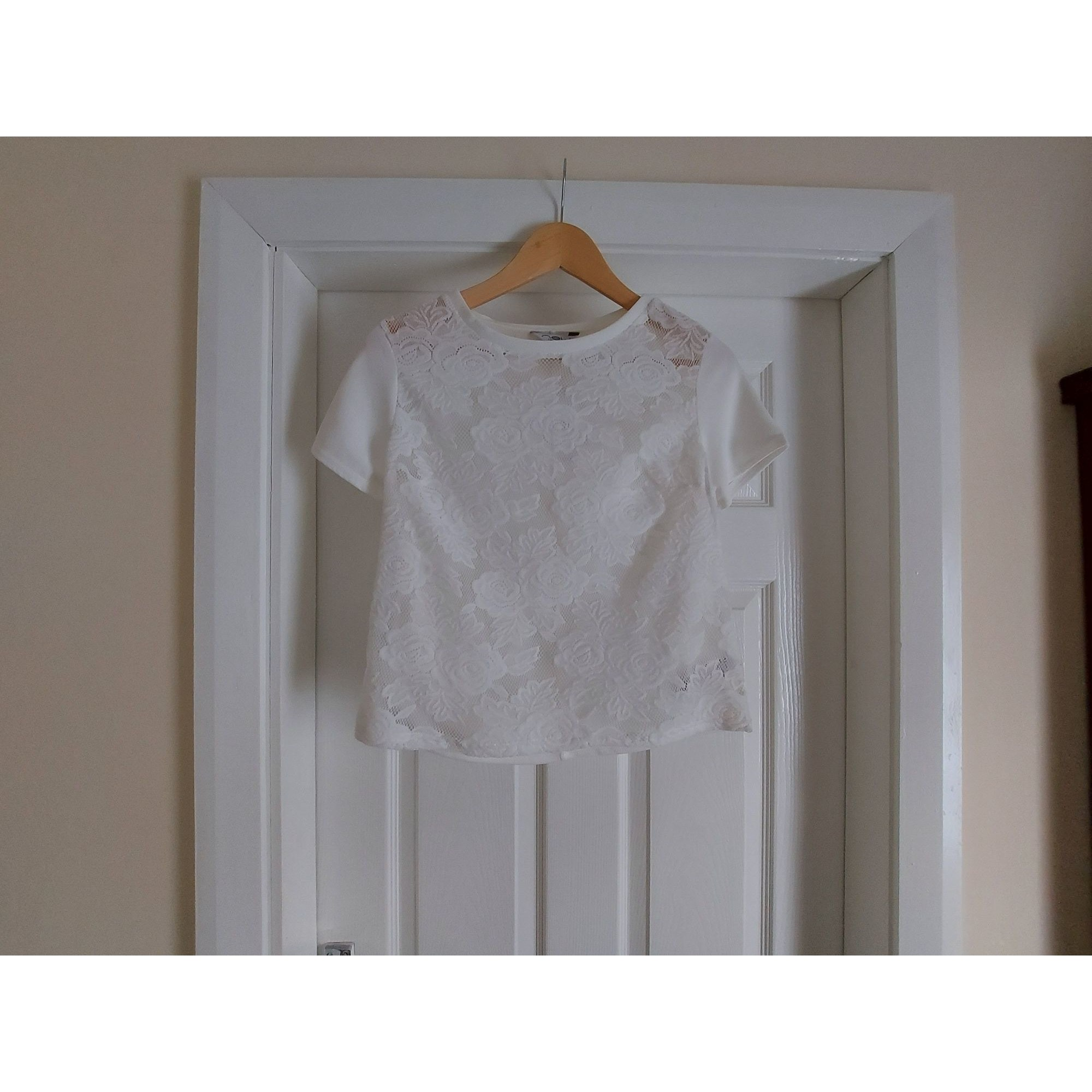Blouse NEW LOOK Blanc, blanc cassé, écru