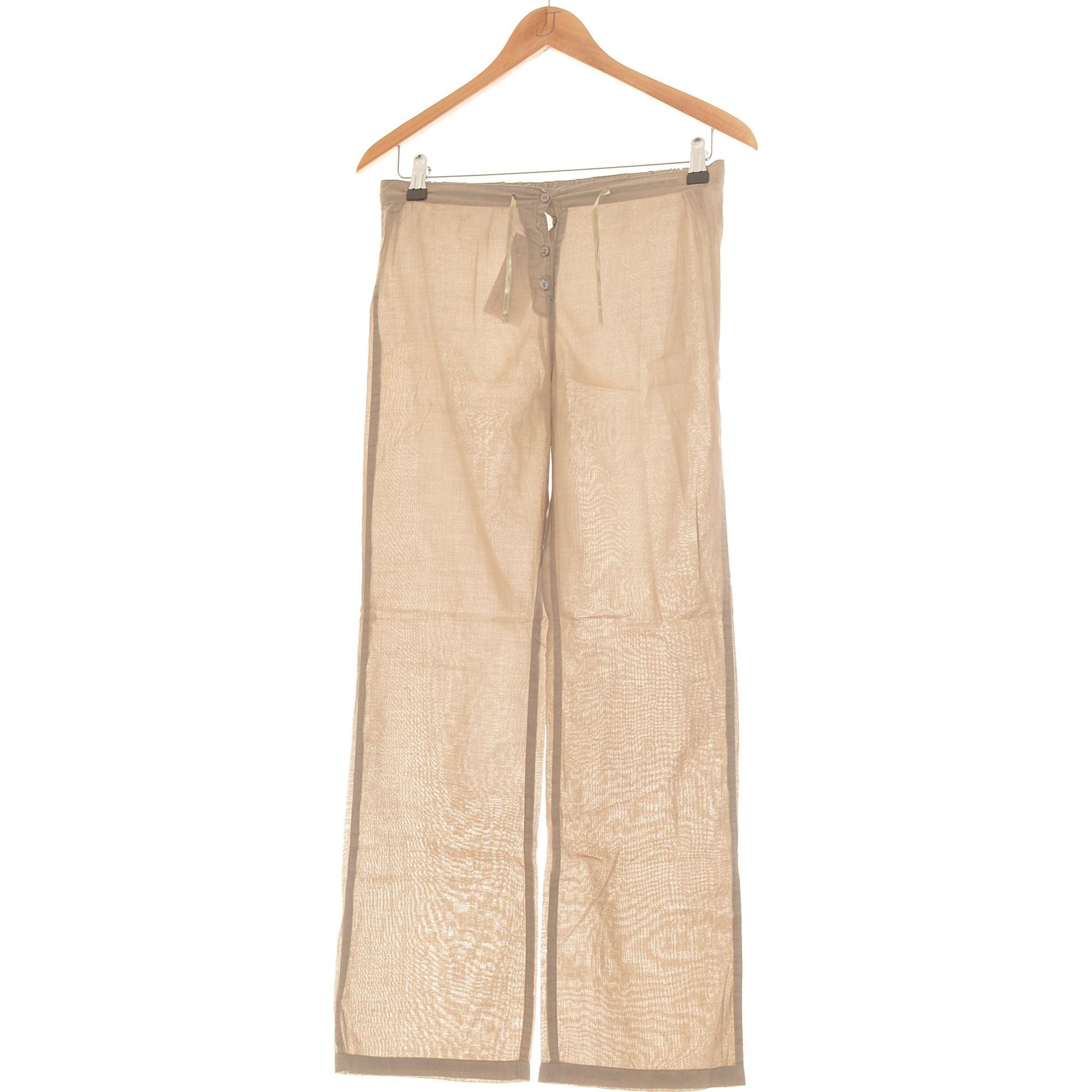 Pantalon droit PETIT BATEAU Marron