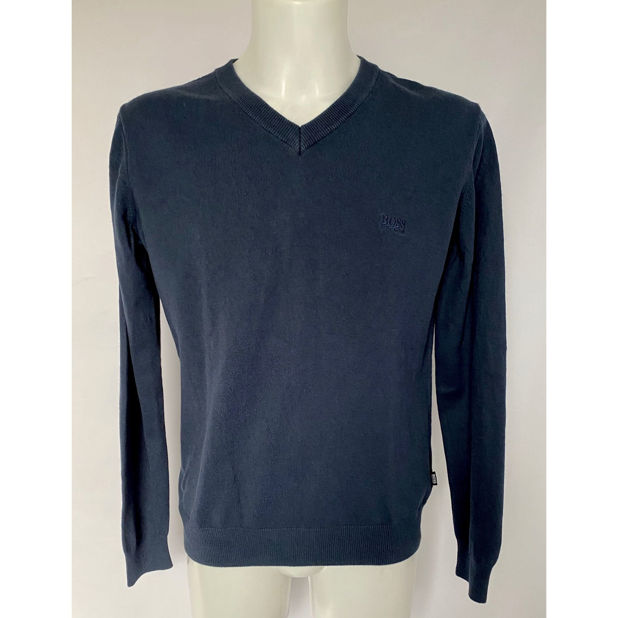 Pull HUGO BOSS Bleu, bleu marine, bleu turquoise