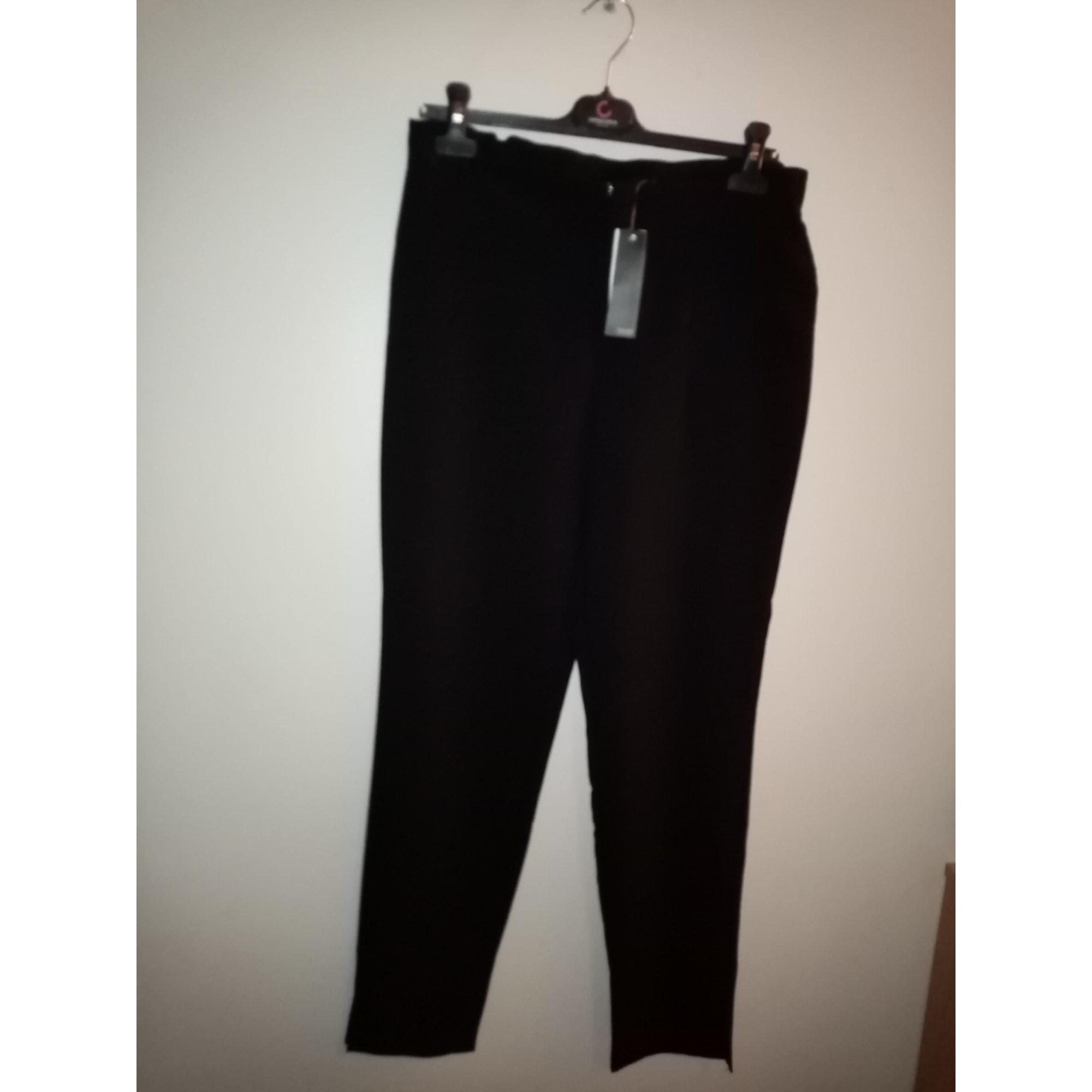 Pantalon droit MISS CAPTAIN Noir