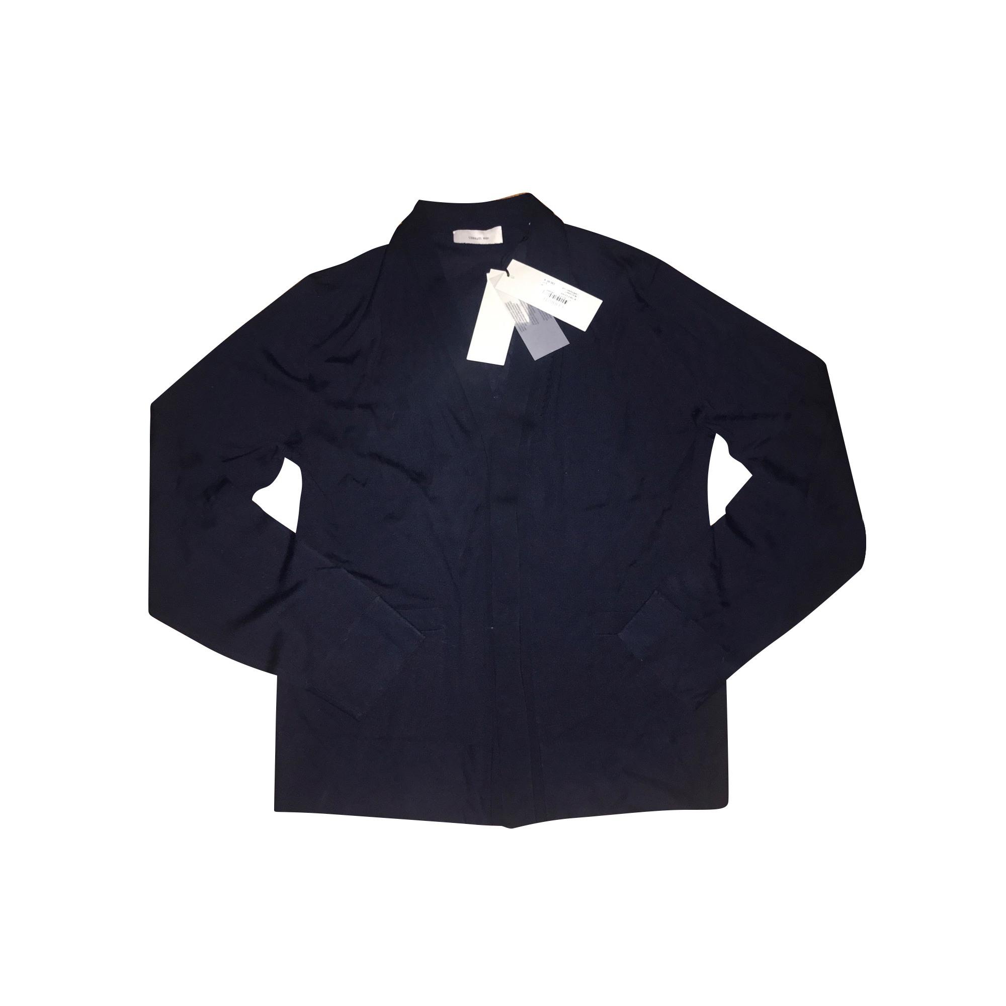Gilet, cardigan CERRUTI 1881 Bleu, bleu marine, bleu turquoise