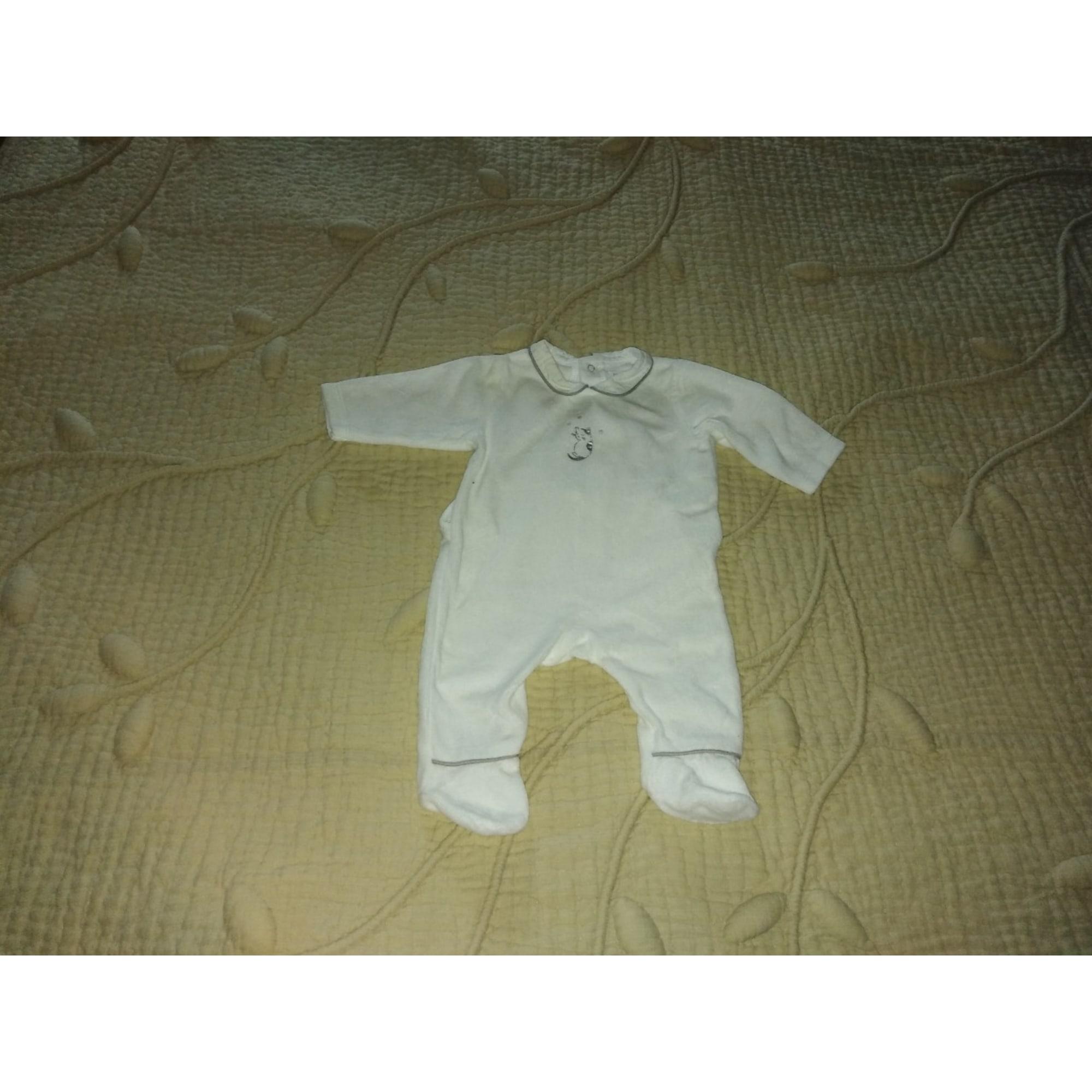 Pyjama BOUT'CHOU White, off-white, ecru