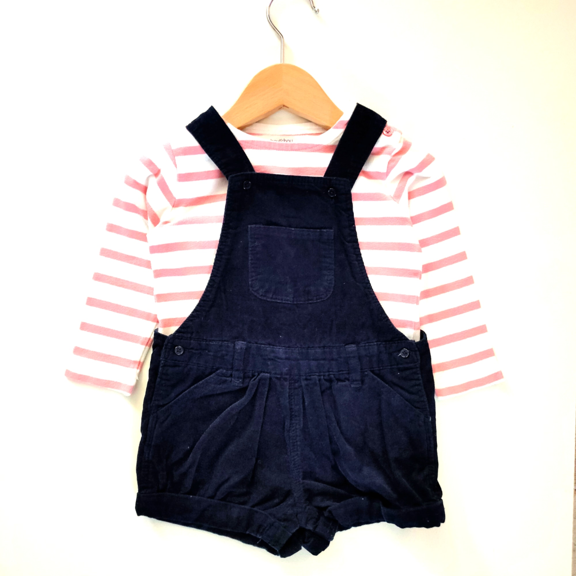 Short Overalls BOUT'CHOU Blue, navy, turquoise