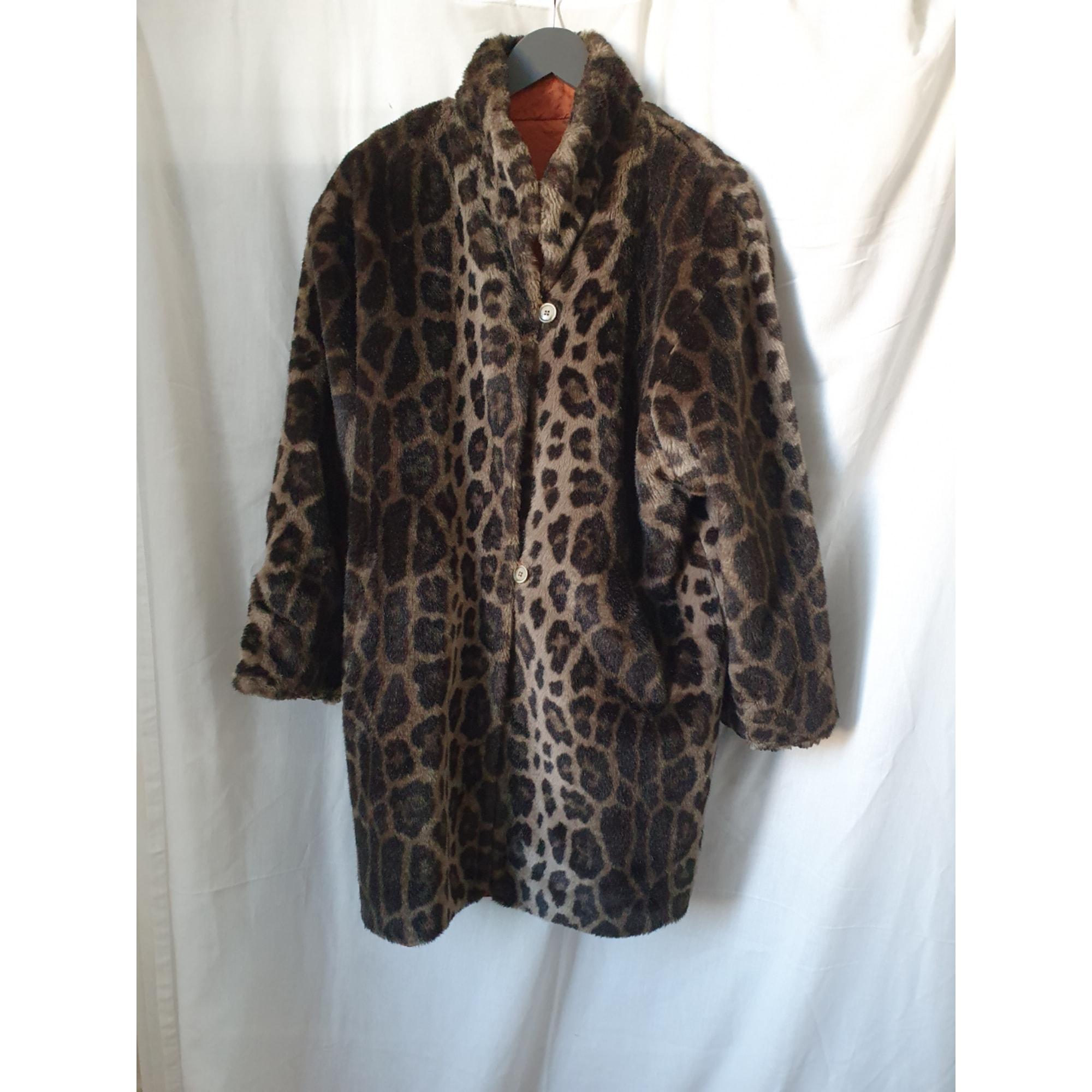 Manteau en fourrure NORBERT NELL Imprimés animaliers