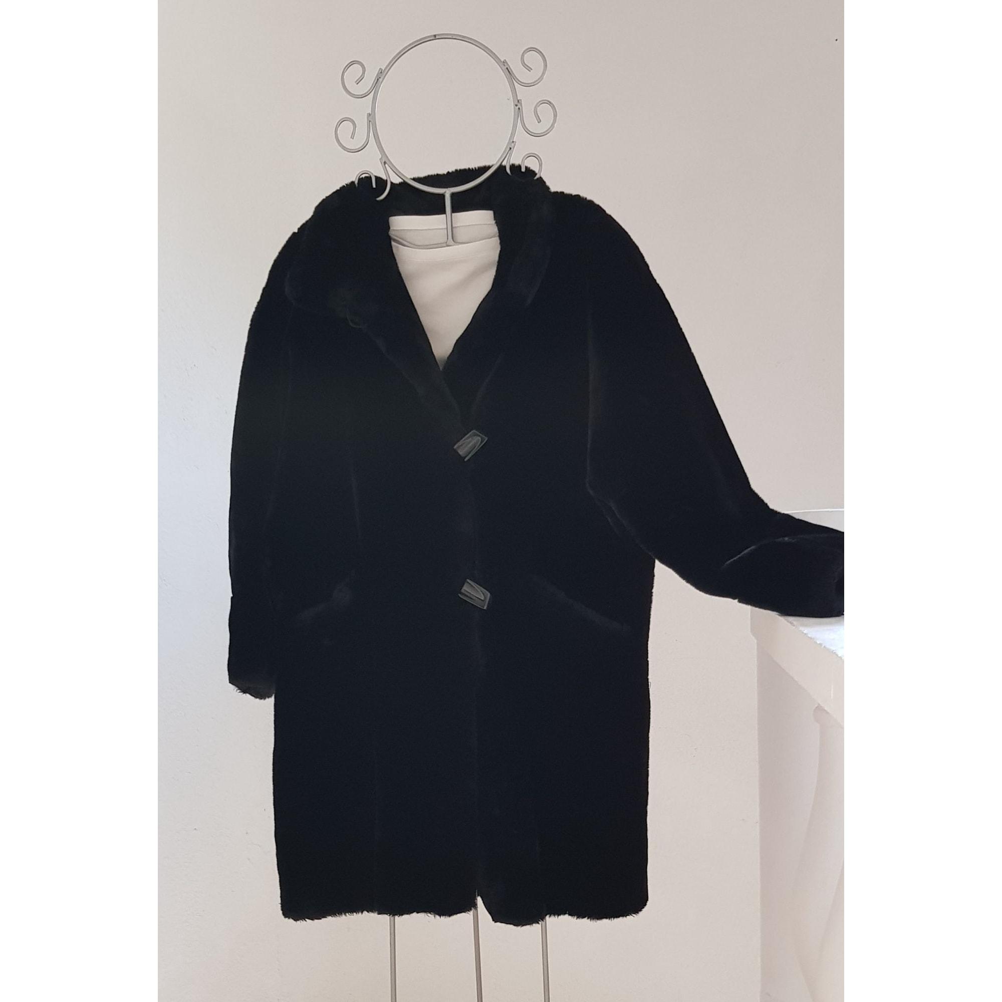 Manteau en fourrure BURTON Marron