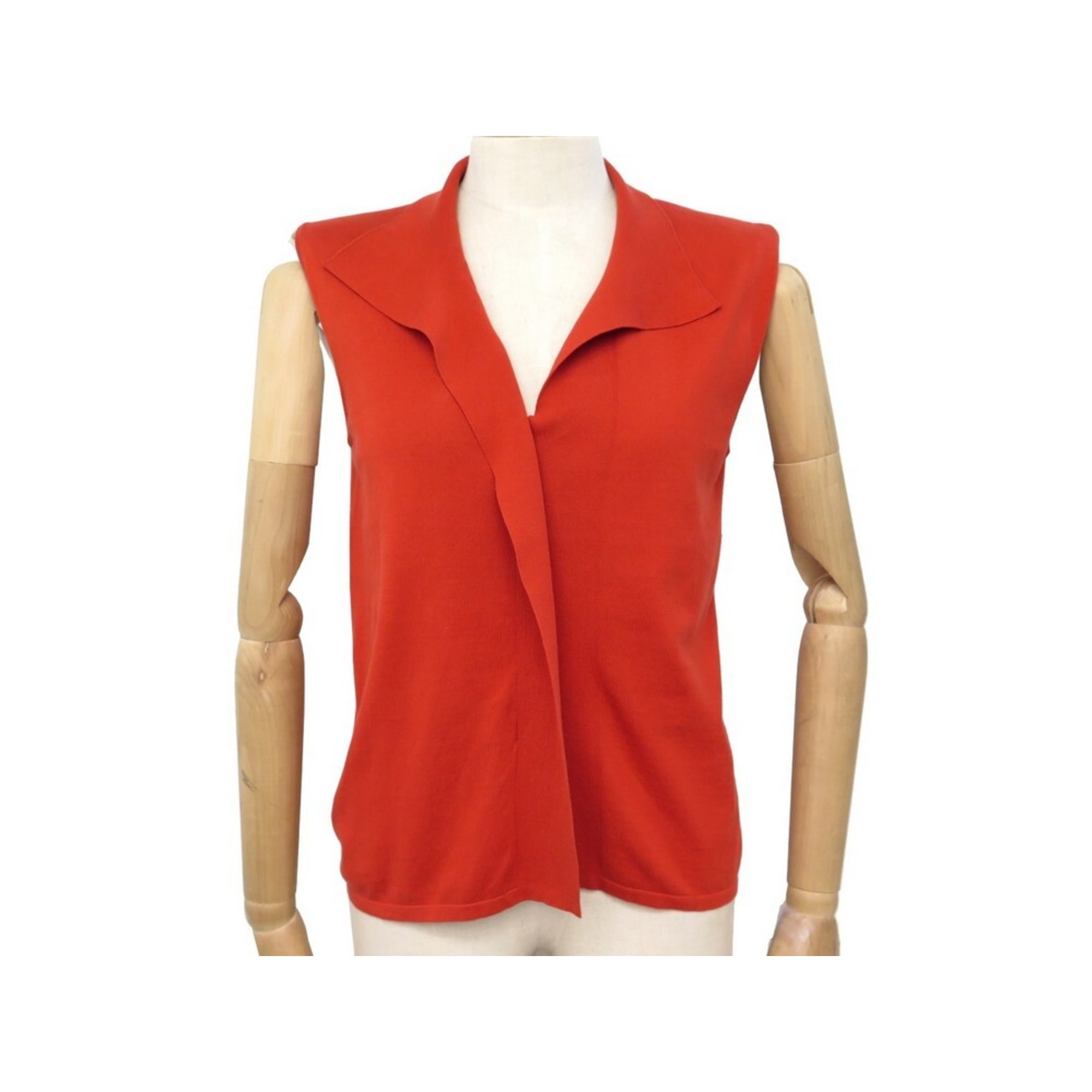 Top, tee-shirt HERMÈS Rouge