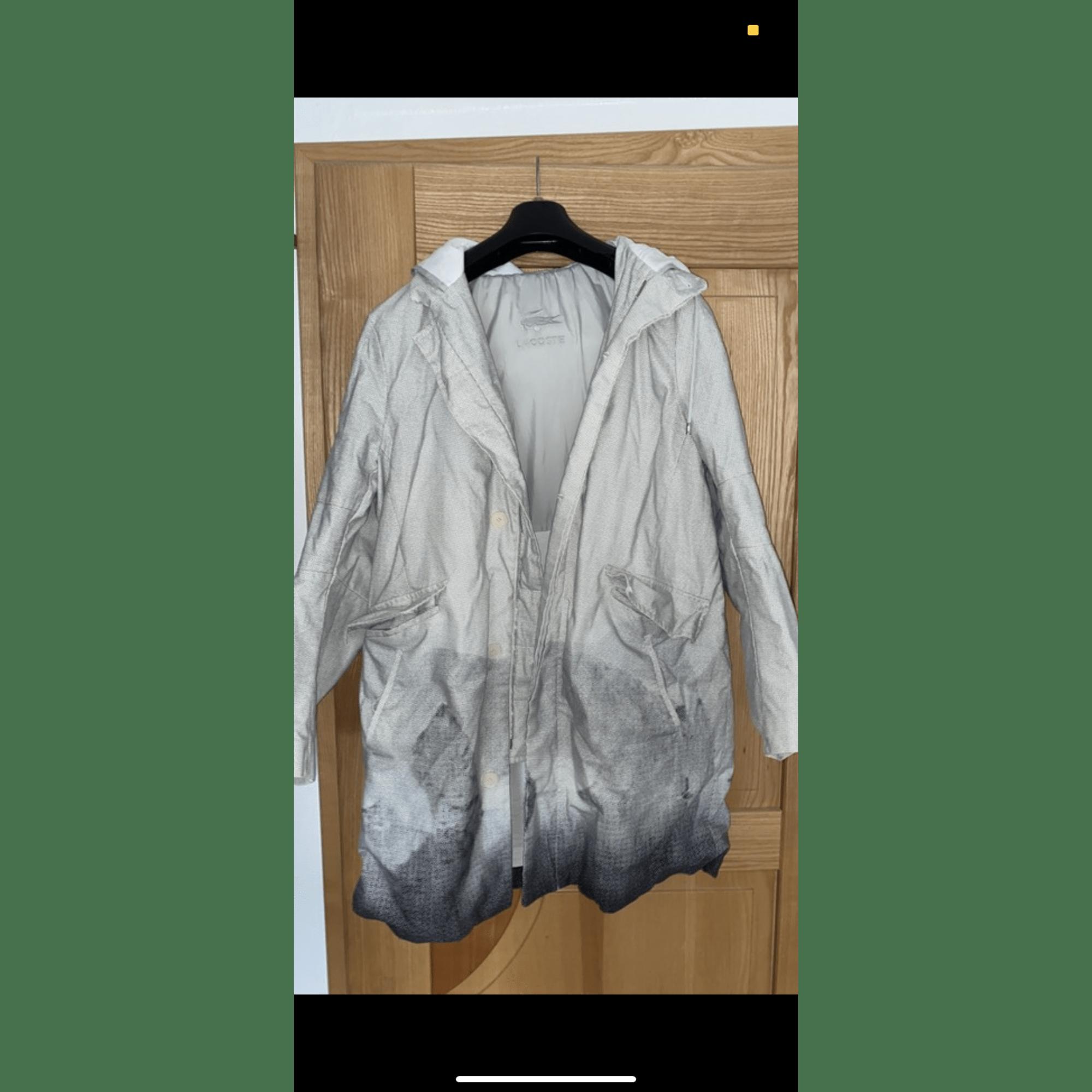 Manteau LACOSTE Blanc, blanc cassé, écru