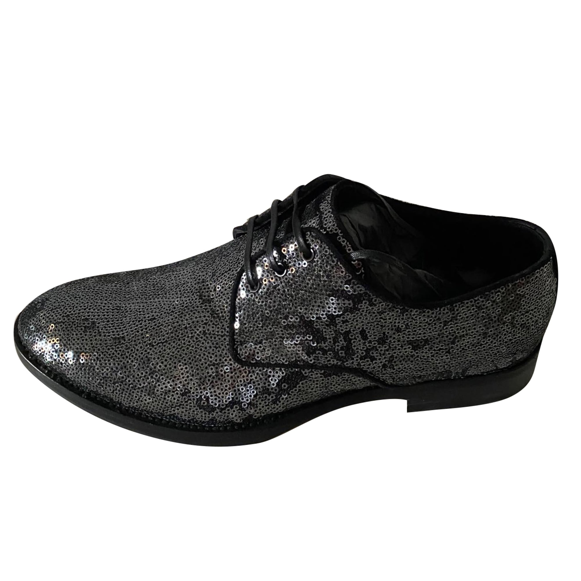 Lace Up Shoes DOLCE & GABBANA Silver