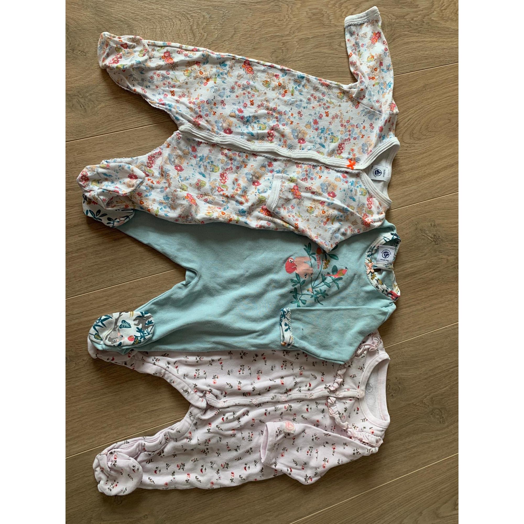 Pyjama PETIT BATEAU Rose, fuschia, vieux rose