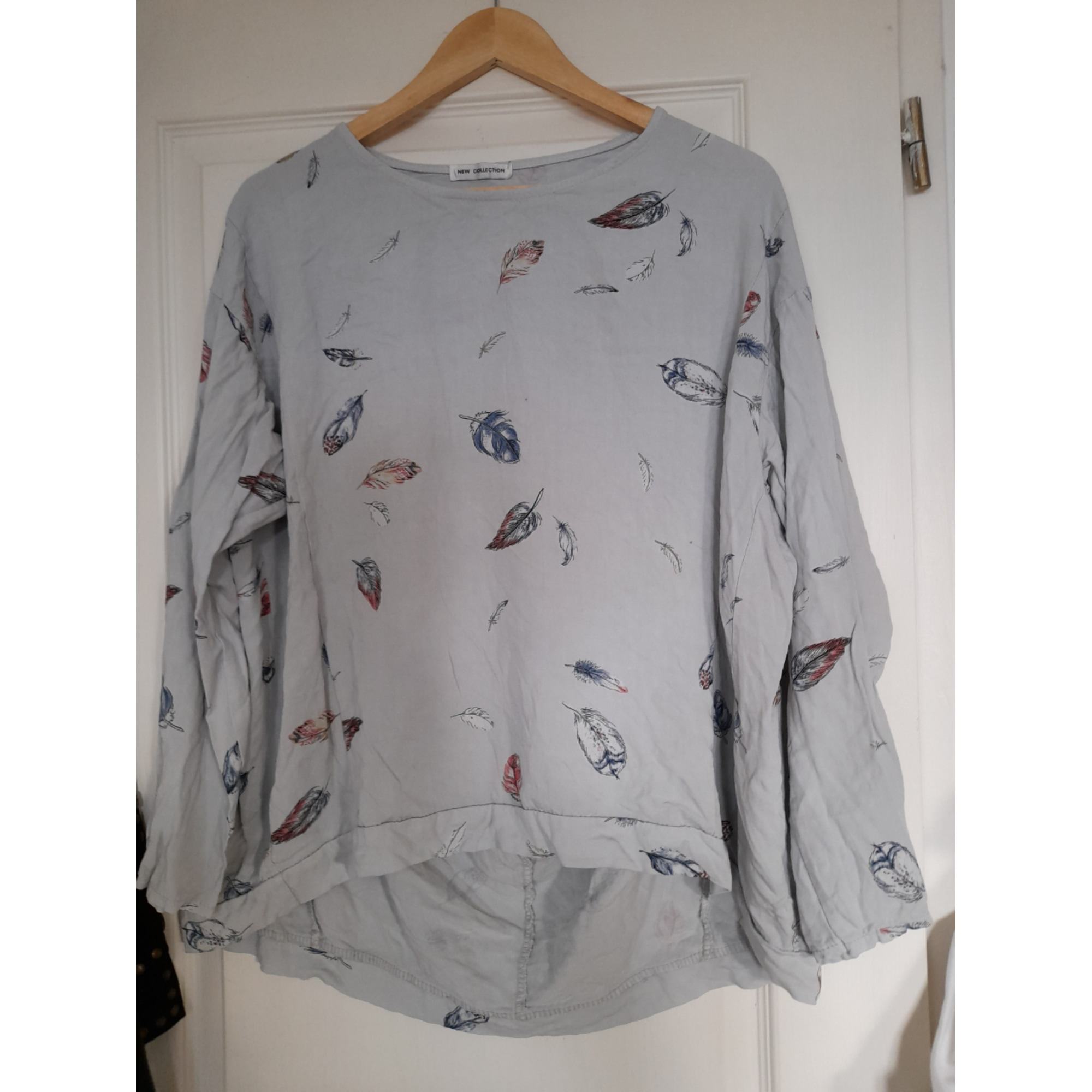 Blouse MADE IN ITALY Gris, anthracite