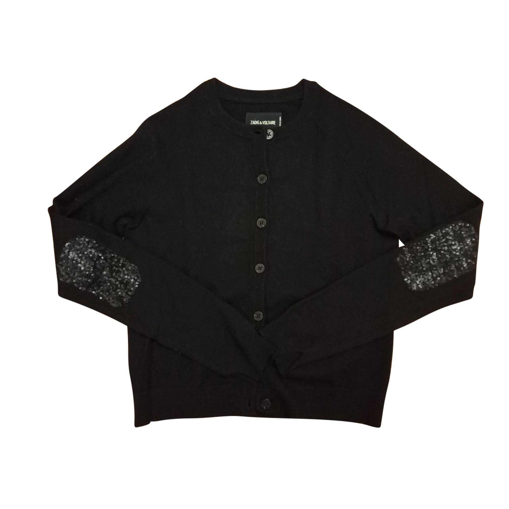Gilet, cardigan ZADIG & VOLTAIRE Noir
