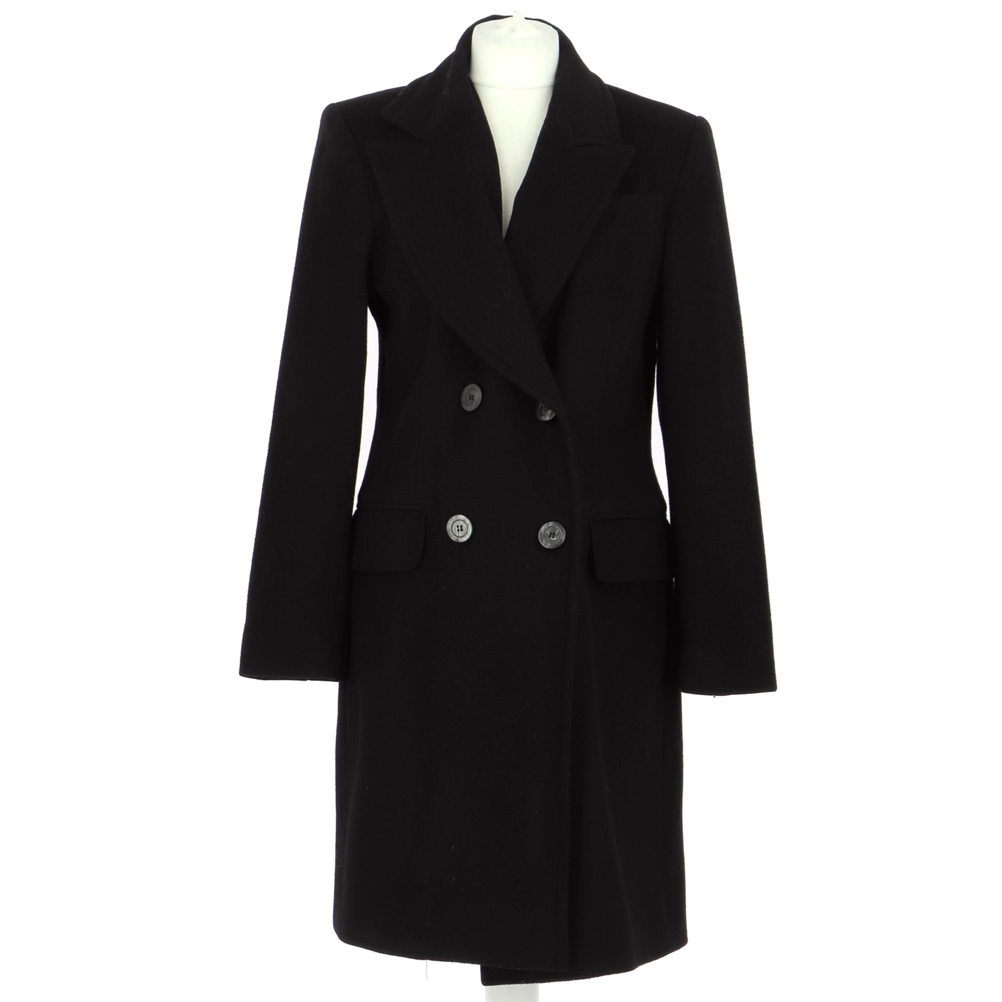 Coat ALAIN MANOUKIAN Black