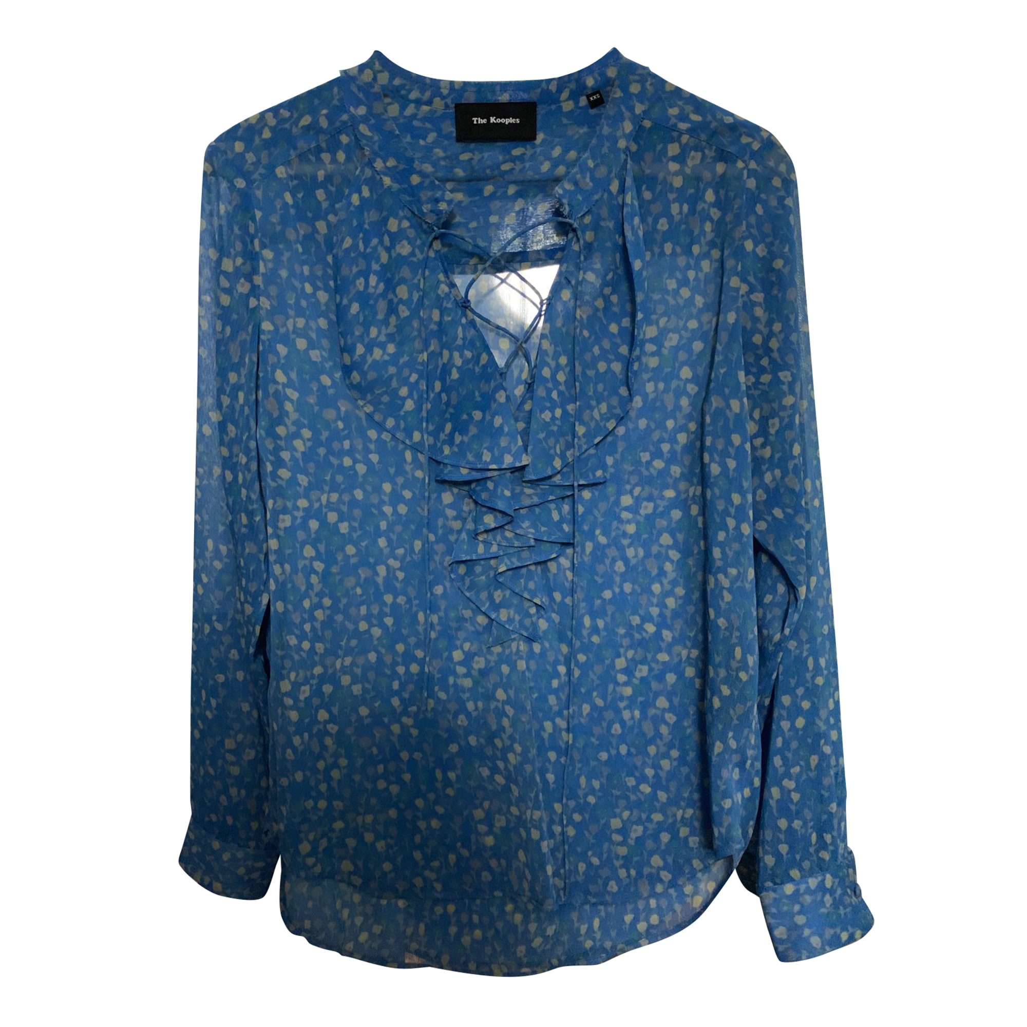Blouse THE KOOPLES Bleu, bleu marine, bleu turquoise