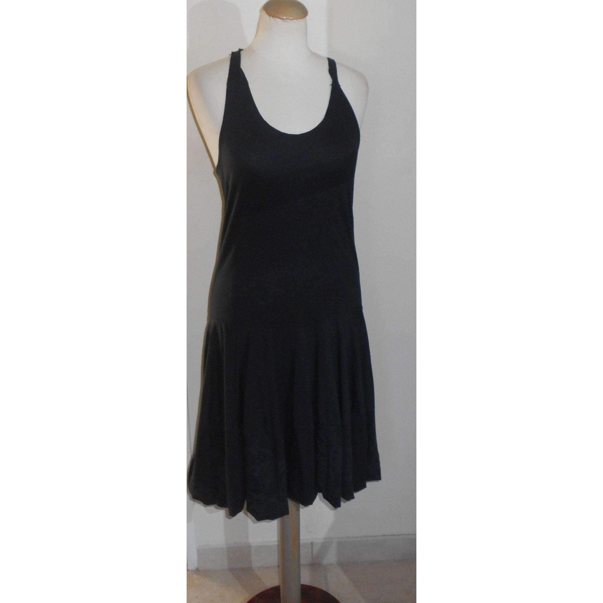 Robe courte MARITHÉ ET FRANÇOIS GIRBAUD Noir