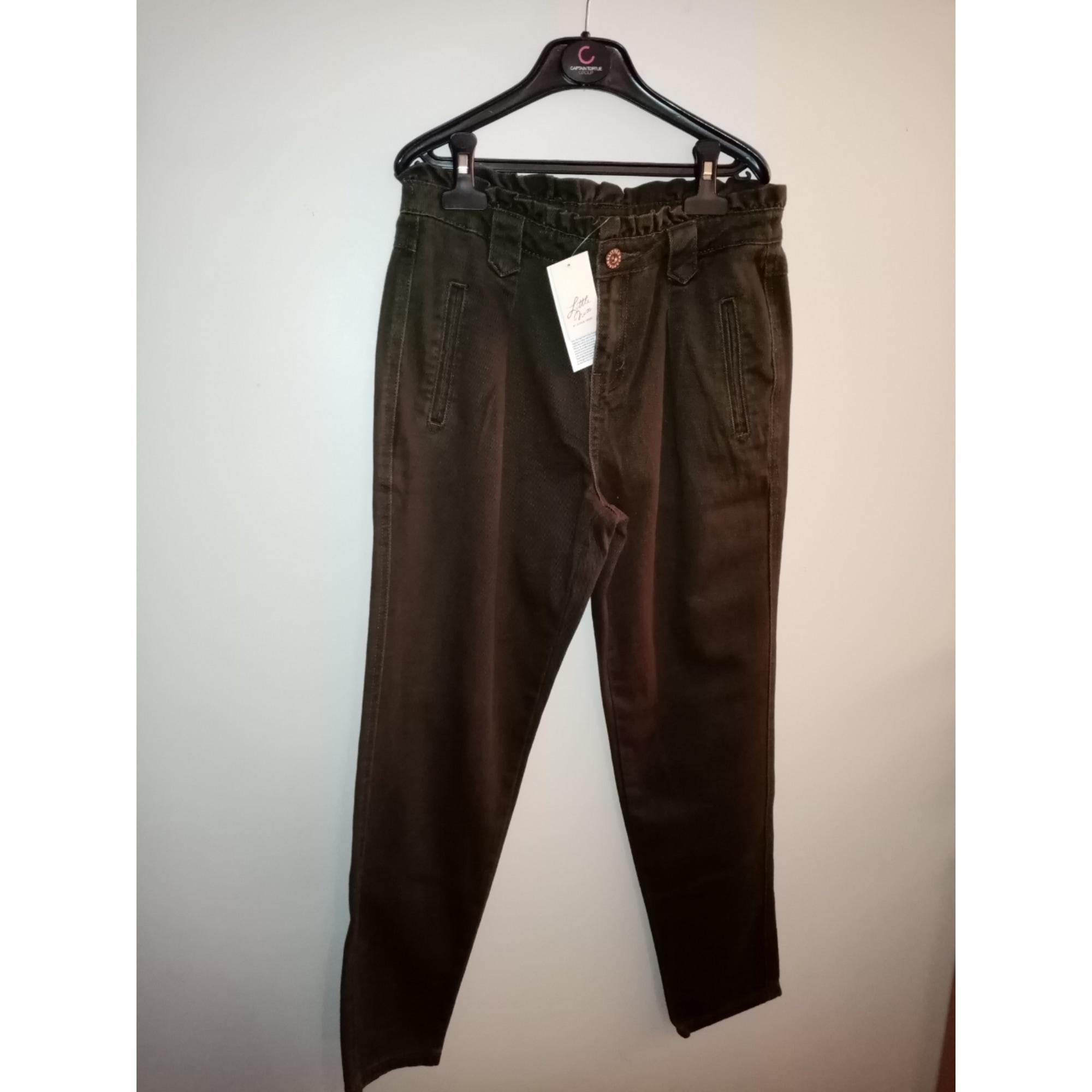 Pantalon large MISS CAPTAIN Kaki