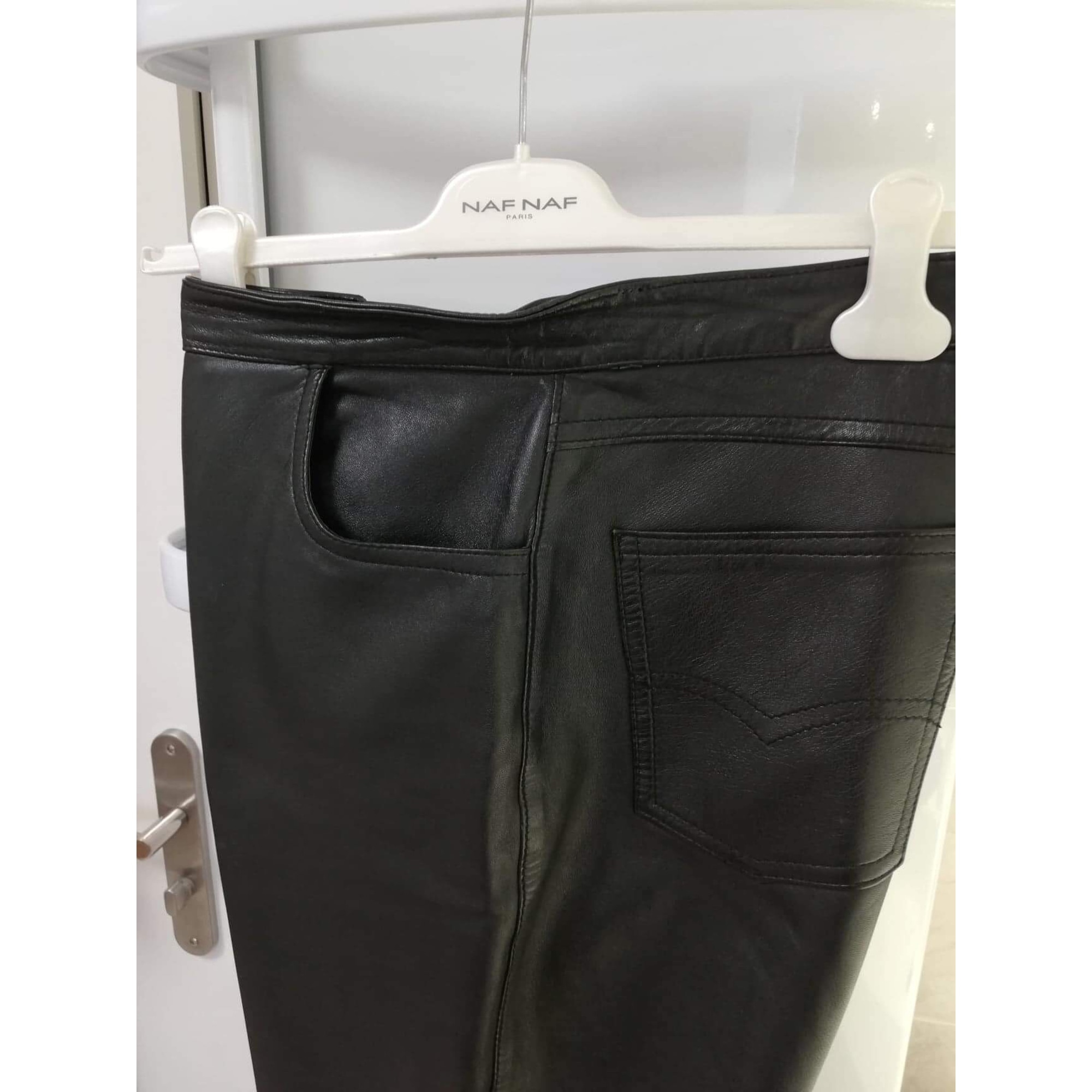 Pantalon droit LA CANADIENNE Noir