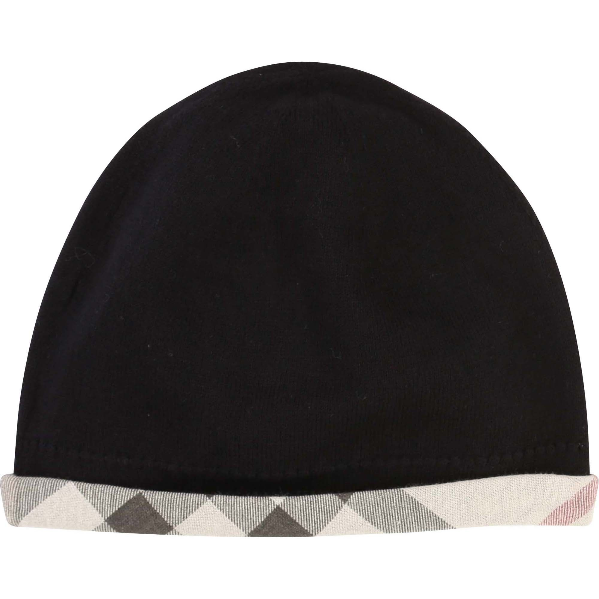 Bonnet BURBERRY Noir
